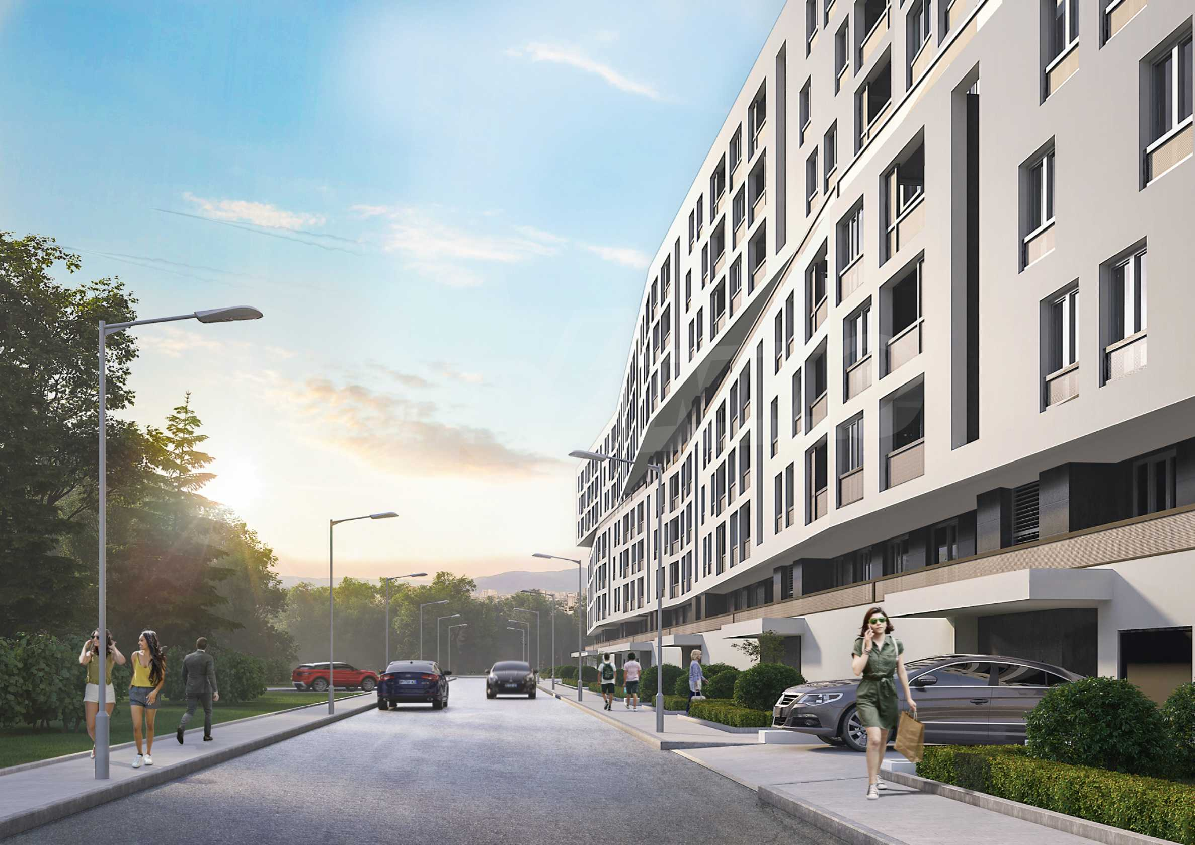 Verde - a large-scale residential project near the center in a quiet and green area 3