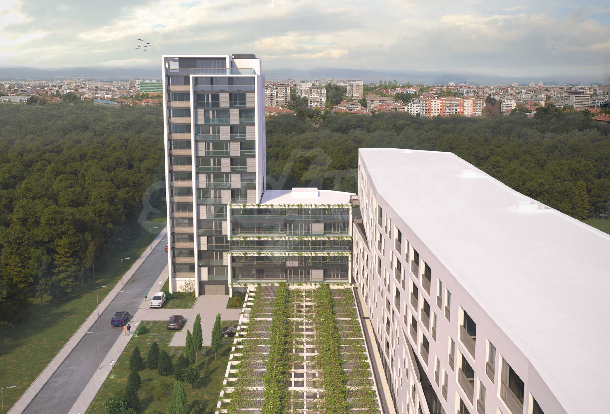 Two bedroom apartment with two terraces in a new complex near the center 3