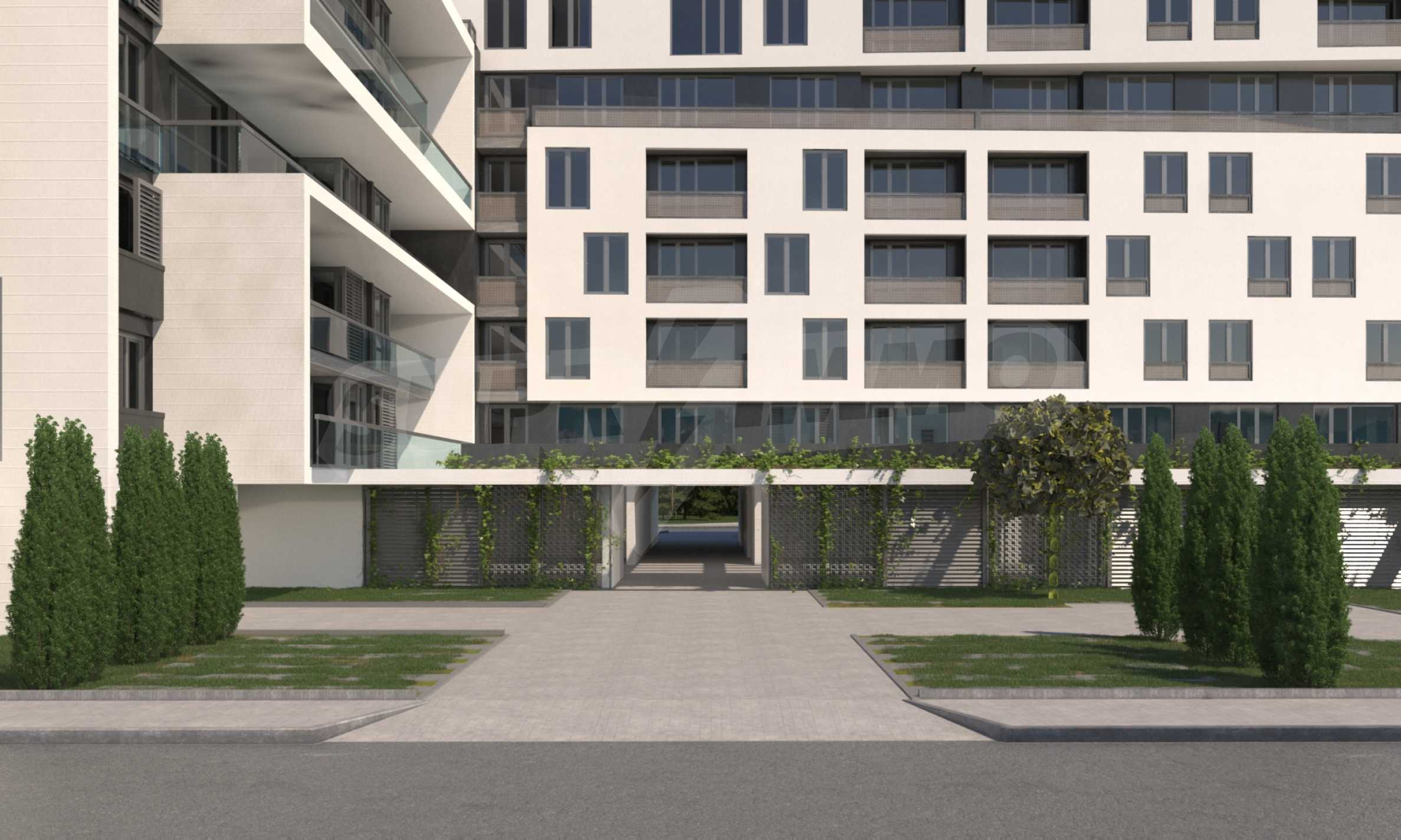 Two bedroom apartment with two terraces in a new complex near the center 5