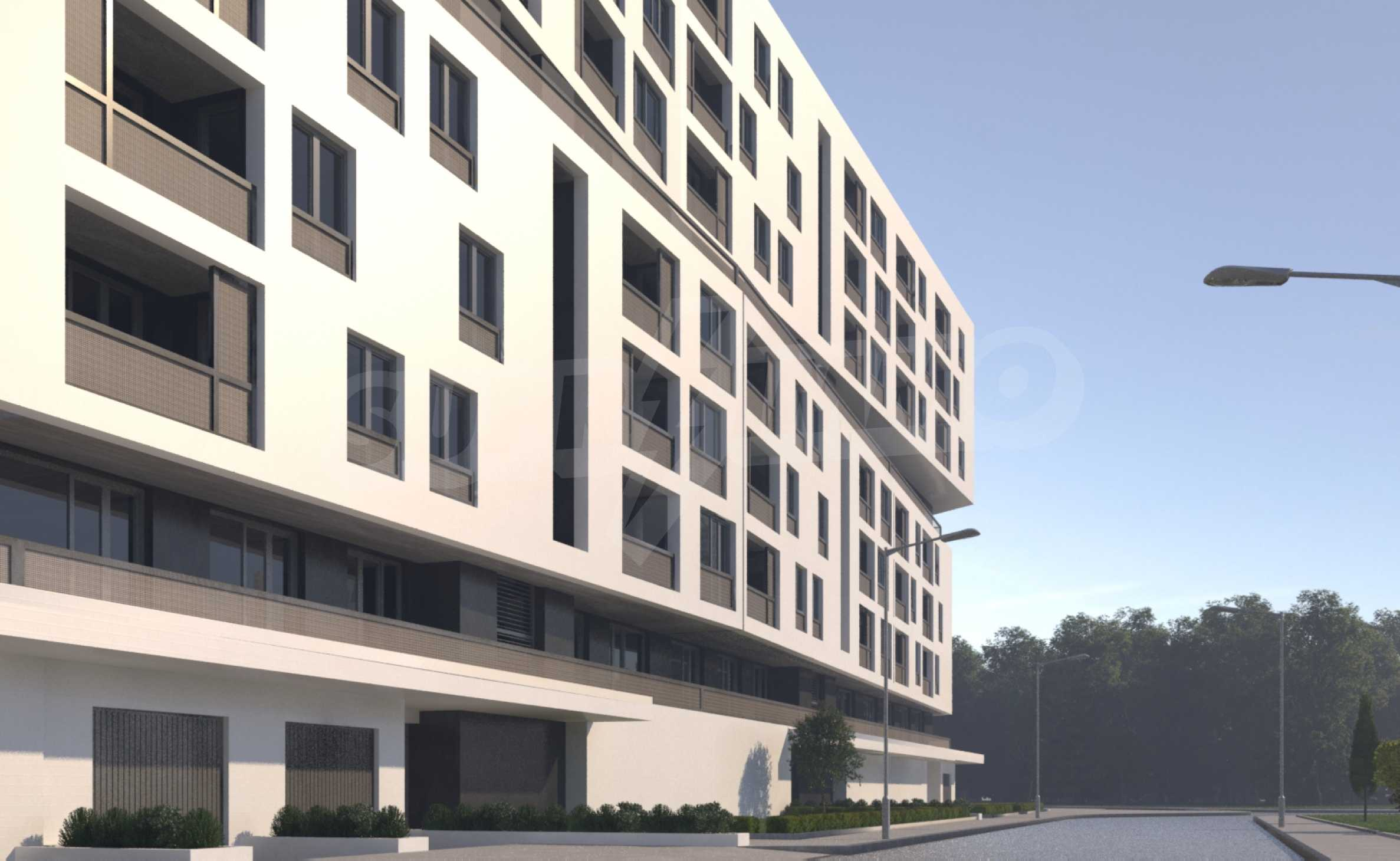 Two bedroom apartment with two terraces in a new complex near the center 6