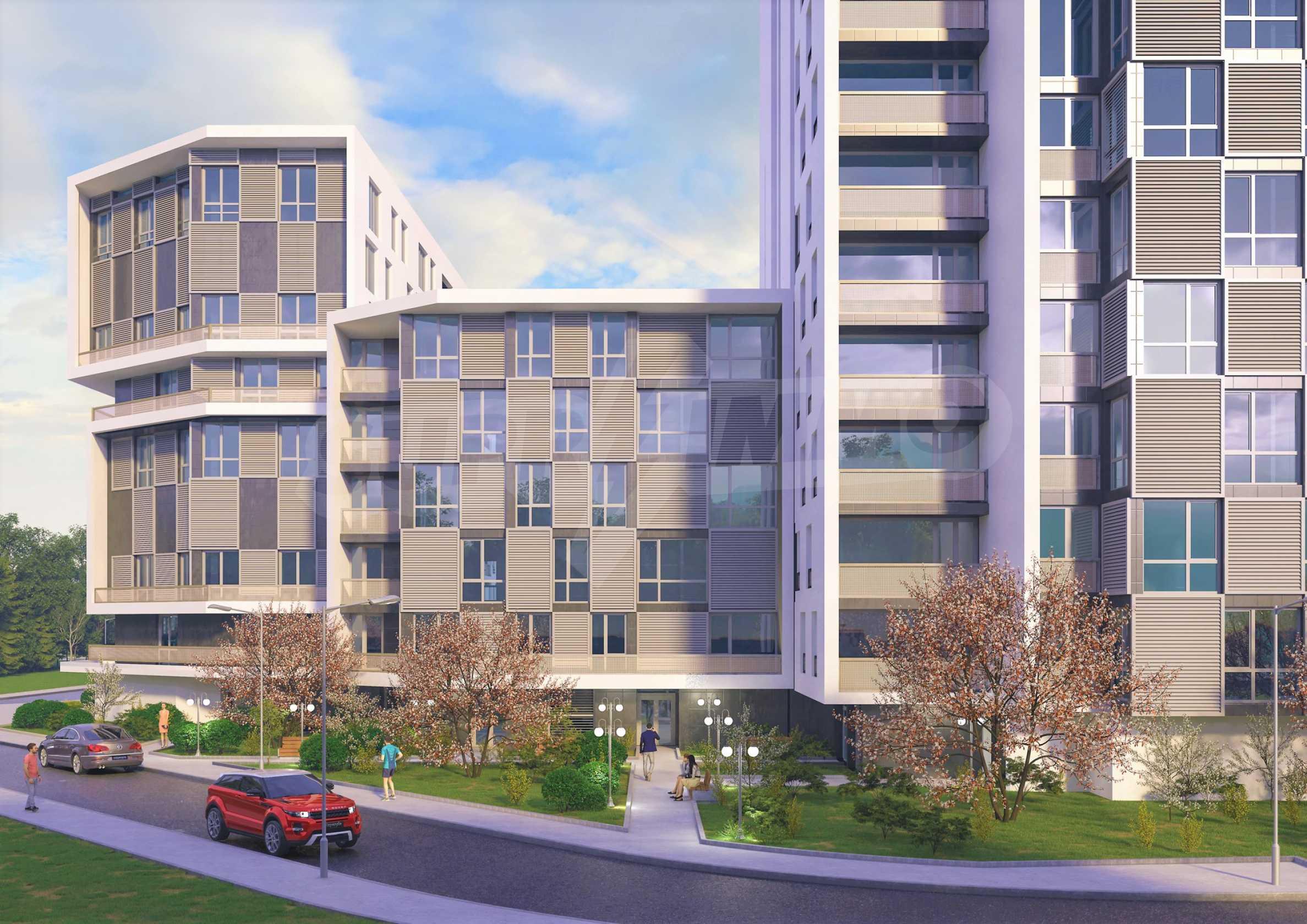 Тристаен апартамент в нов комплекс до центъра 2