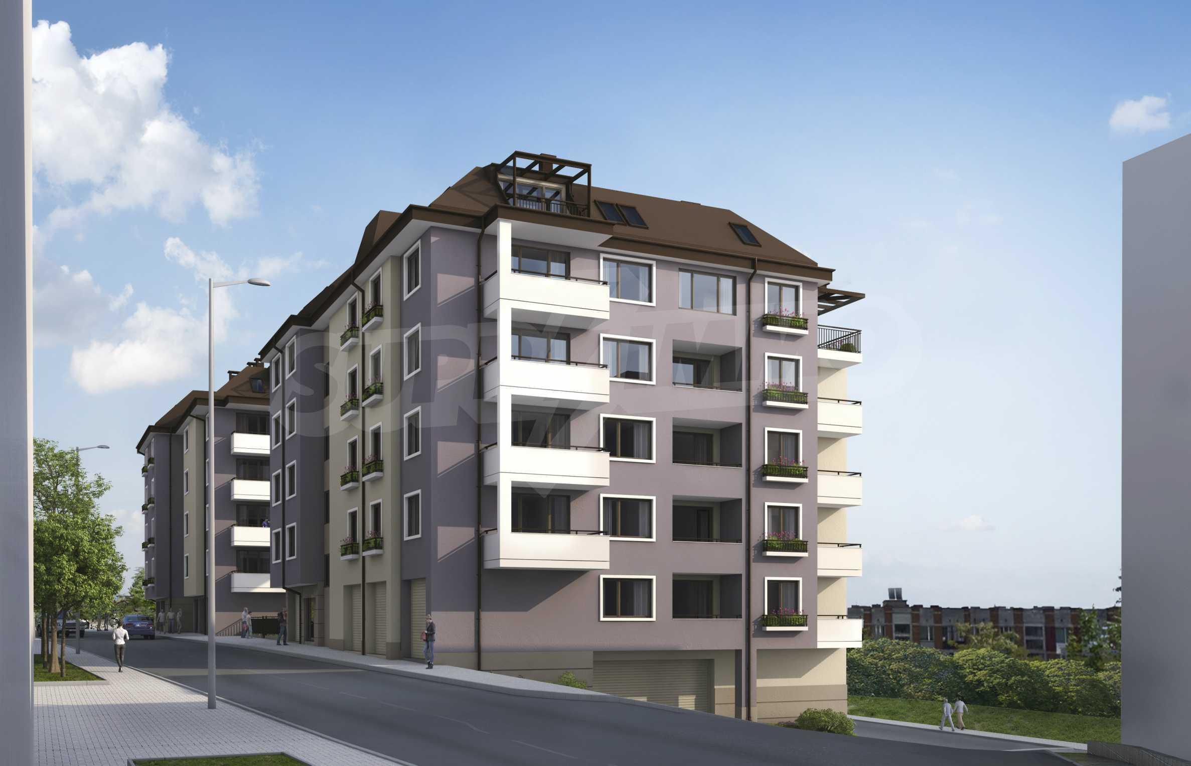 Новопостроен имот в кв.  Картала   1