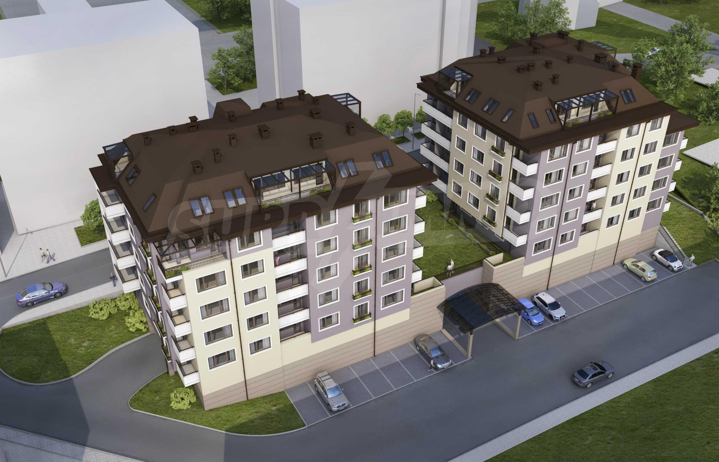 Новопостроен имот в кв.  Картала   6