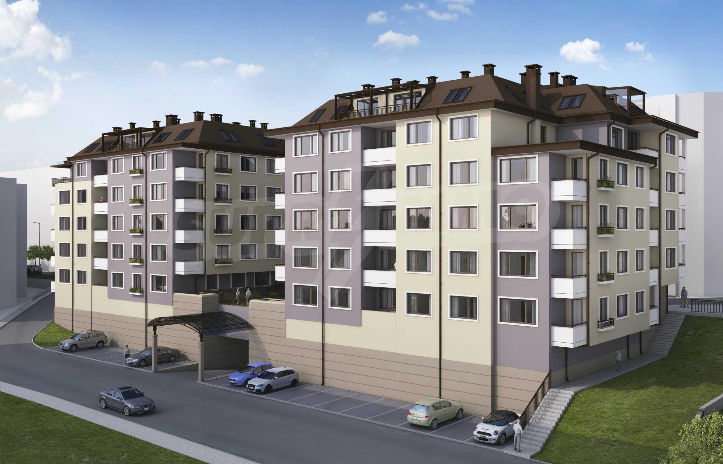 Новопостроен имот в кв.  Картала   7