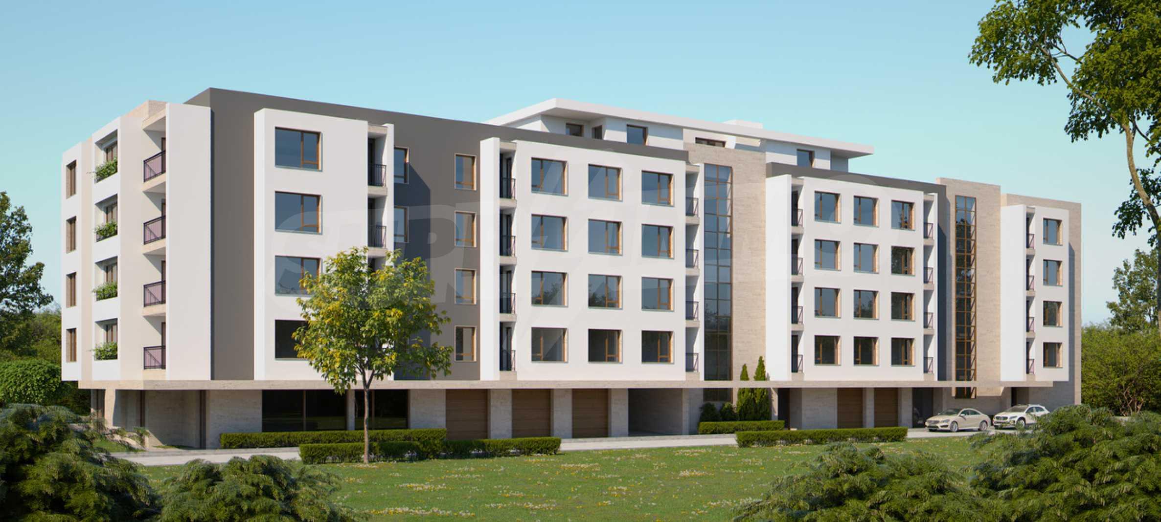 Двустаен апартамент в нова сграда на тиха улица до бул. България 1