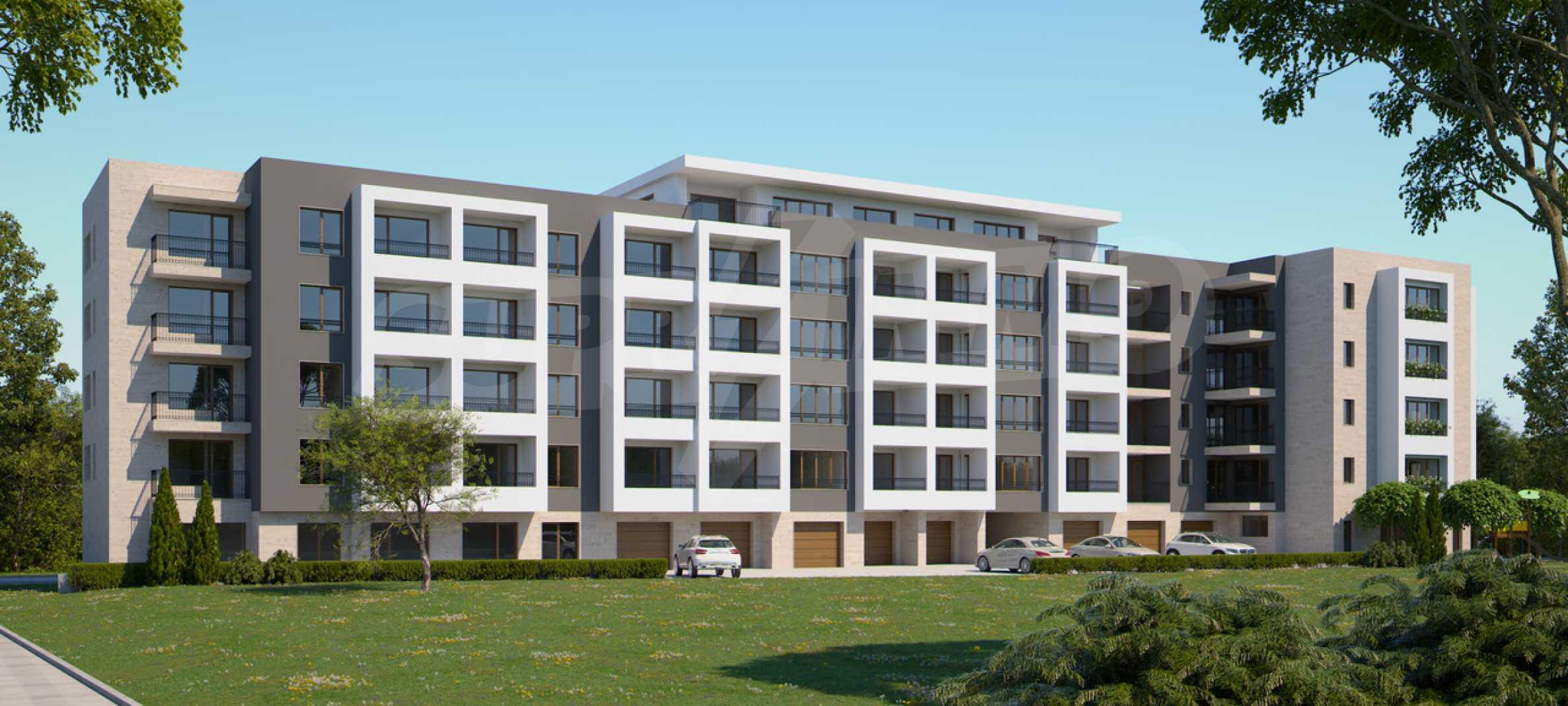 Двустаен апартамент в нова сграда на тиха улица до бул. България 3
