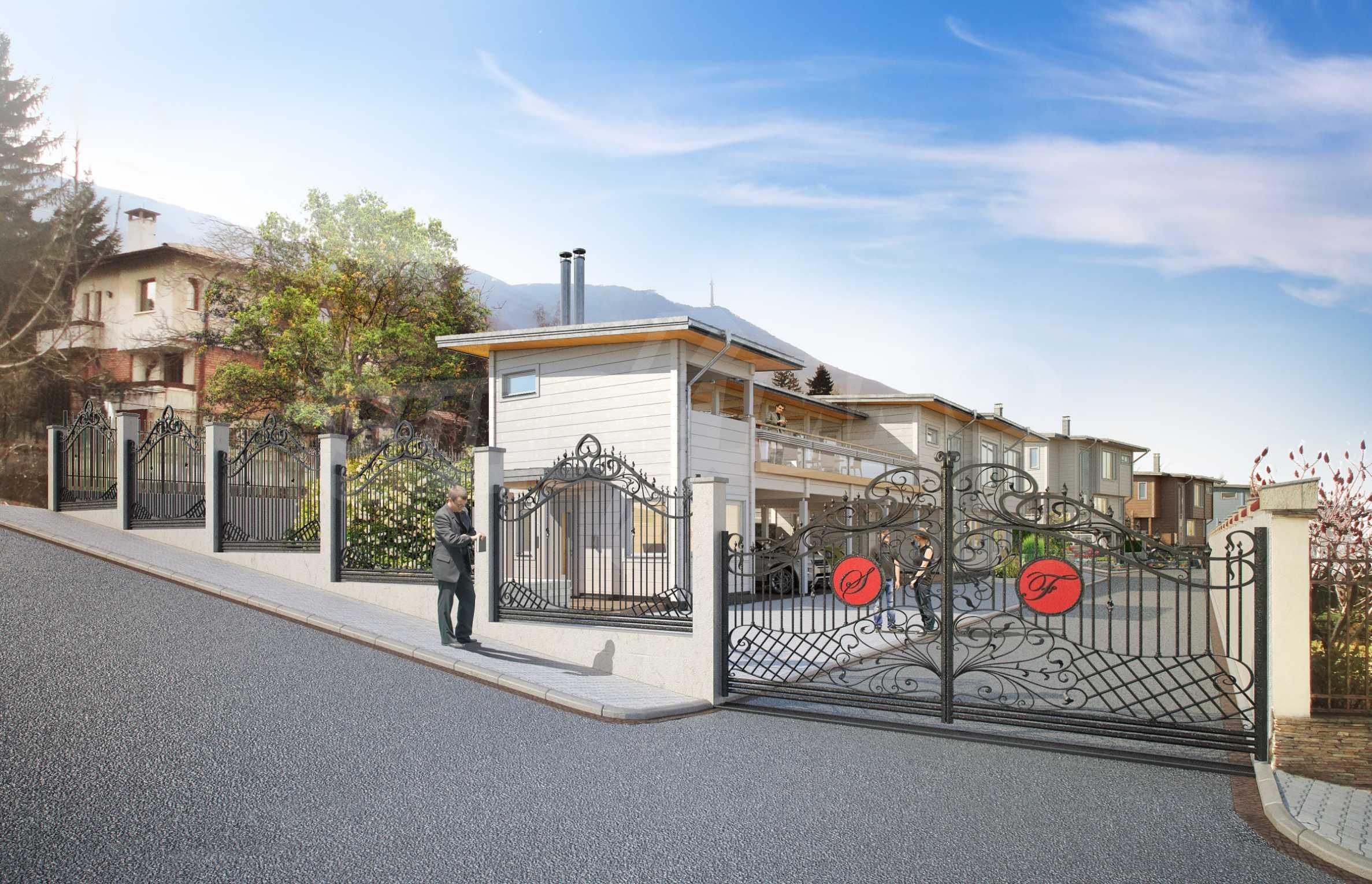 Oko Haus Typ B In Einer Geschlossenen Anlage In Boyana Zu Verkaufen