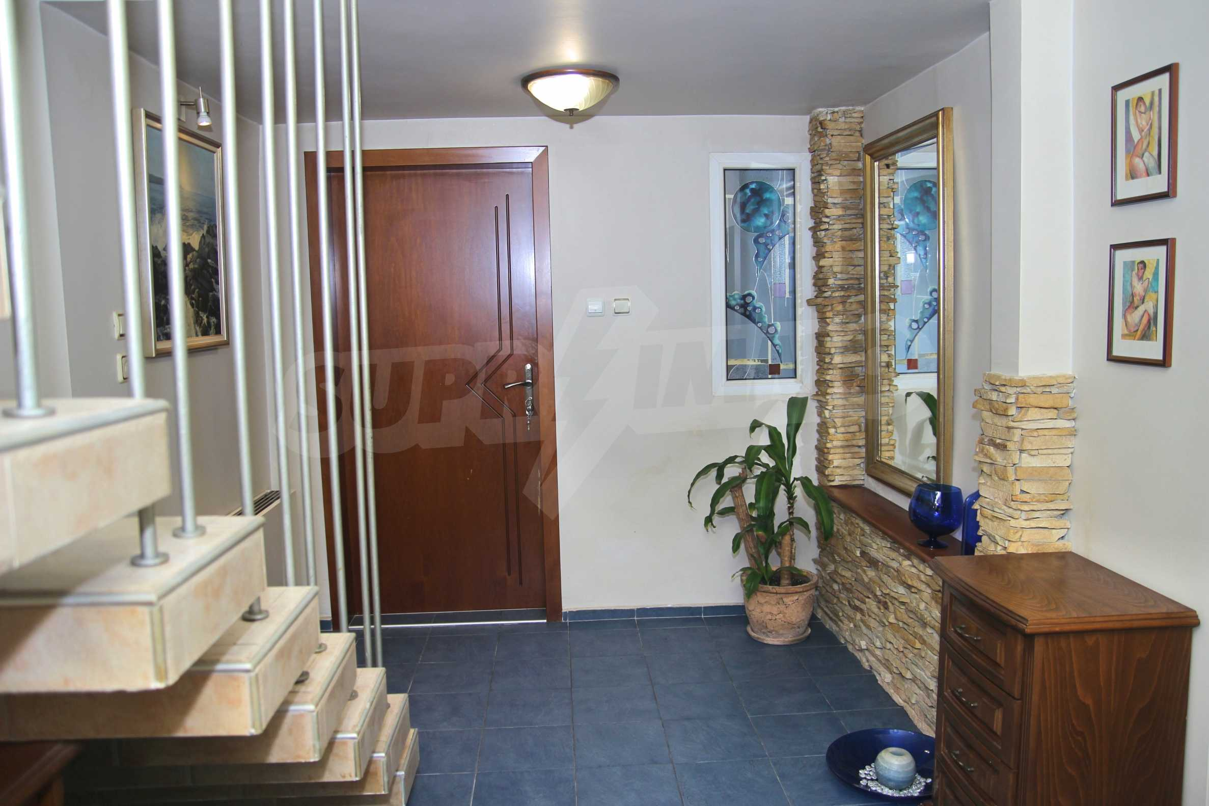 Two storey house with garage and sea views and the city of Varna 6