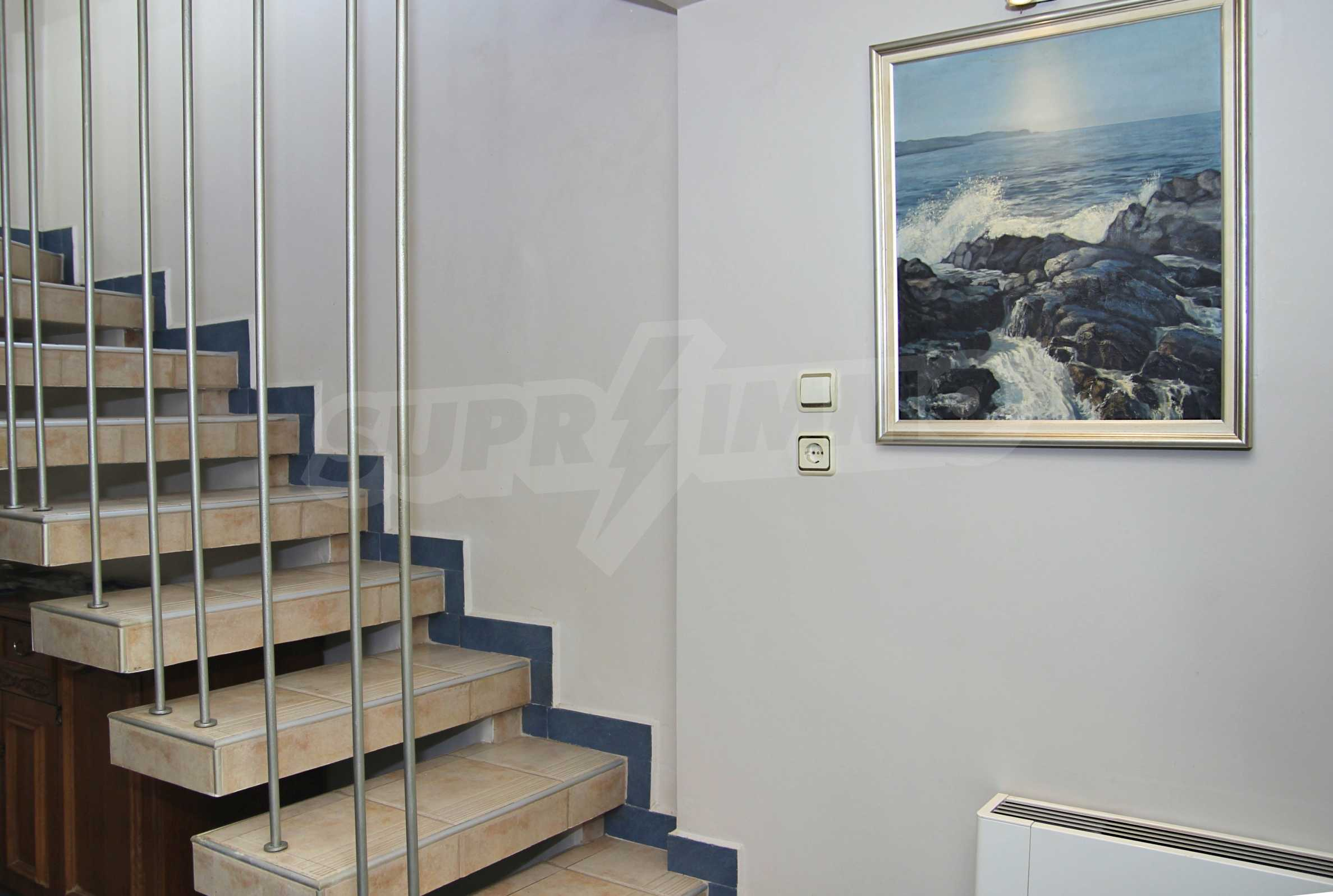 Two storey house with garage and sea views and the city of Varna 7