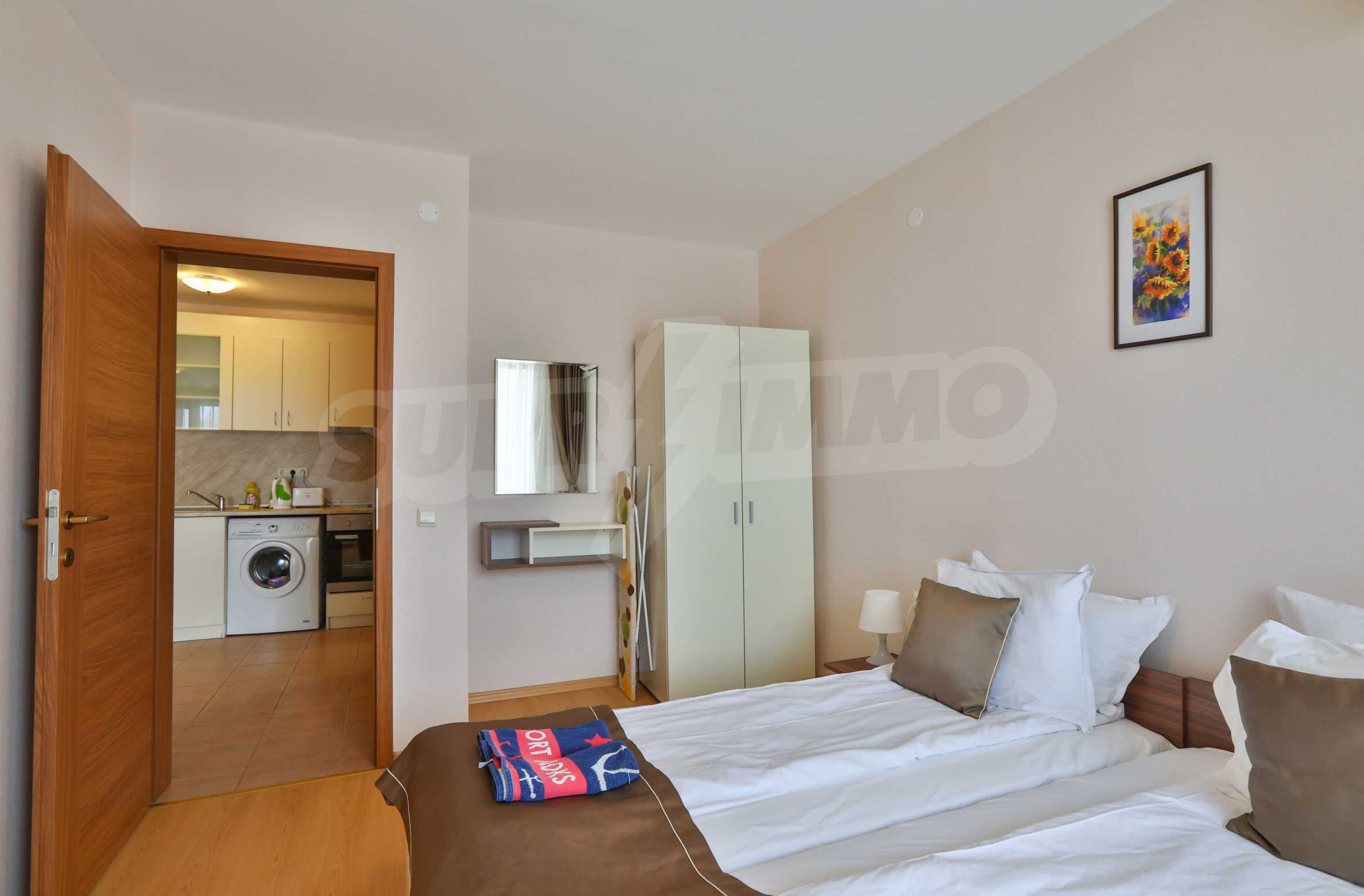 One-bedroom apartment in an elite beachfront complex in Sunny Beach 9