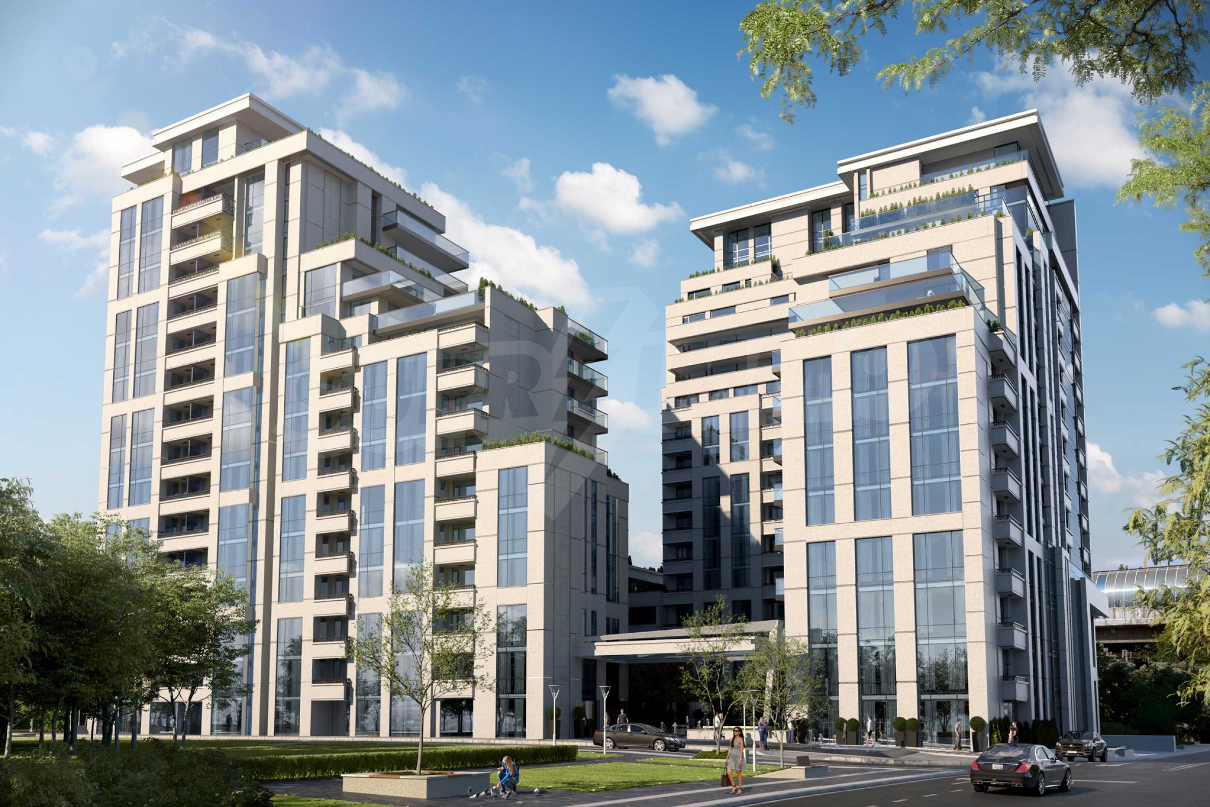 Distinctive project on Tintyava Street next to Joliot Curie metro station. Promo prices!