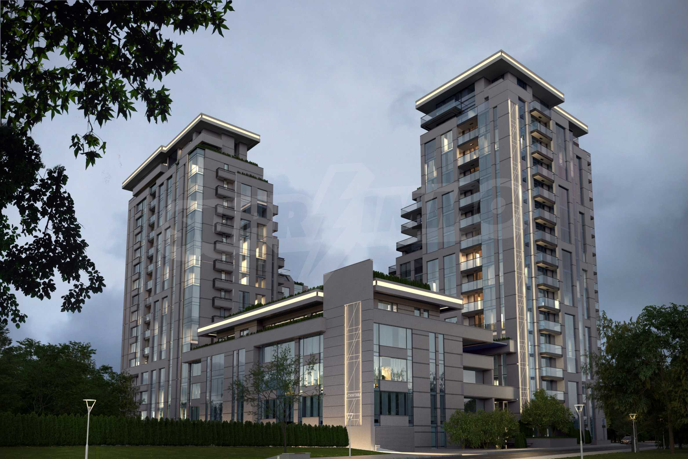 Distinctive project on Tintyava Street next to Joliot Curie metro station. Promo prices! 9