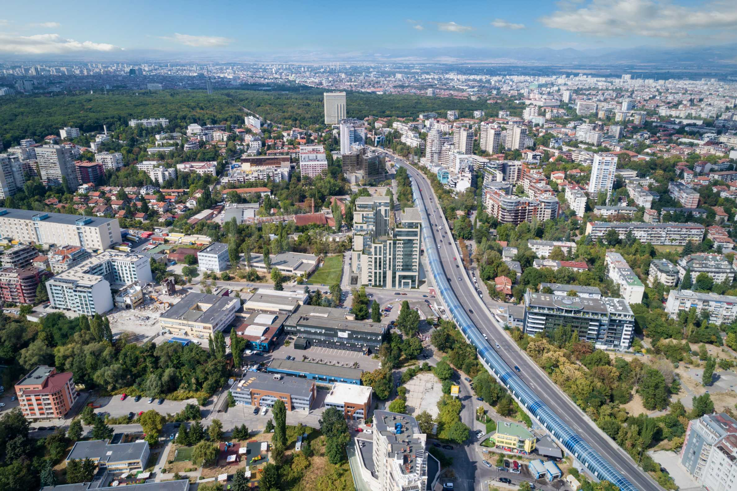 Distinctive project on Tintyava Street next to Joliot Curie metro station. Promo prices! 19