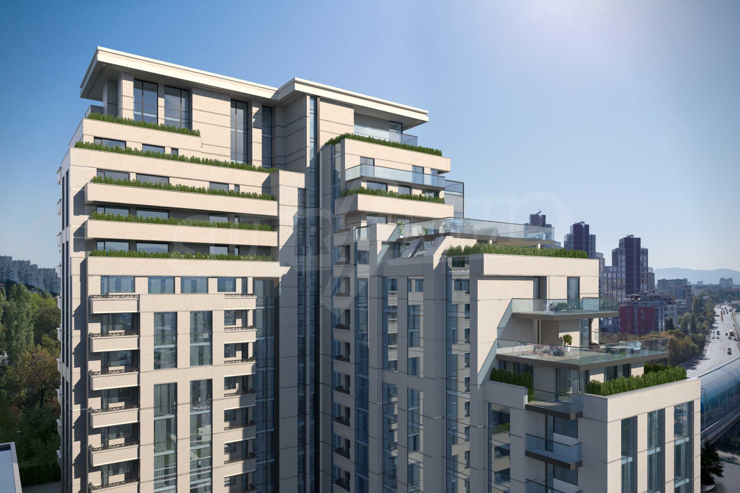 Distinctive project on Tintyava Street next to Joliot Curie metro station. Promo prices! 3
