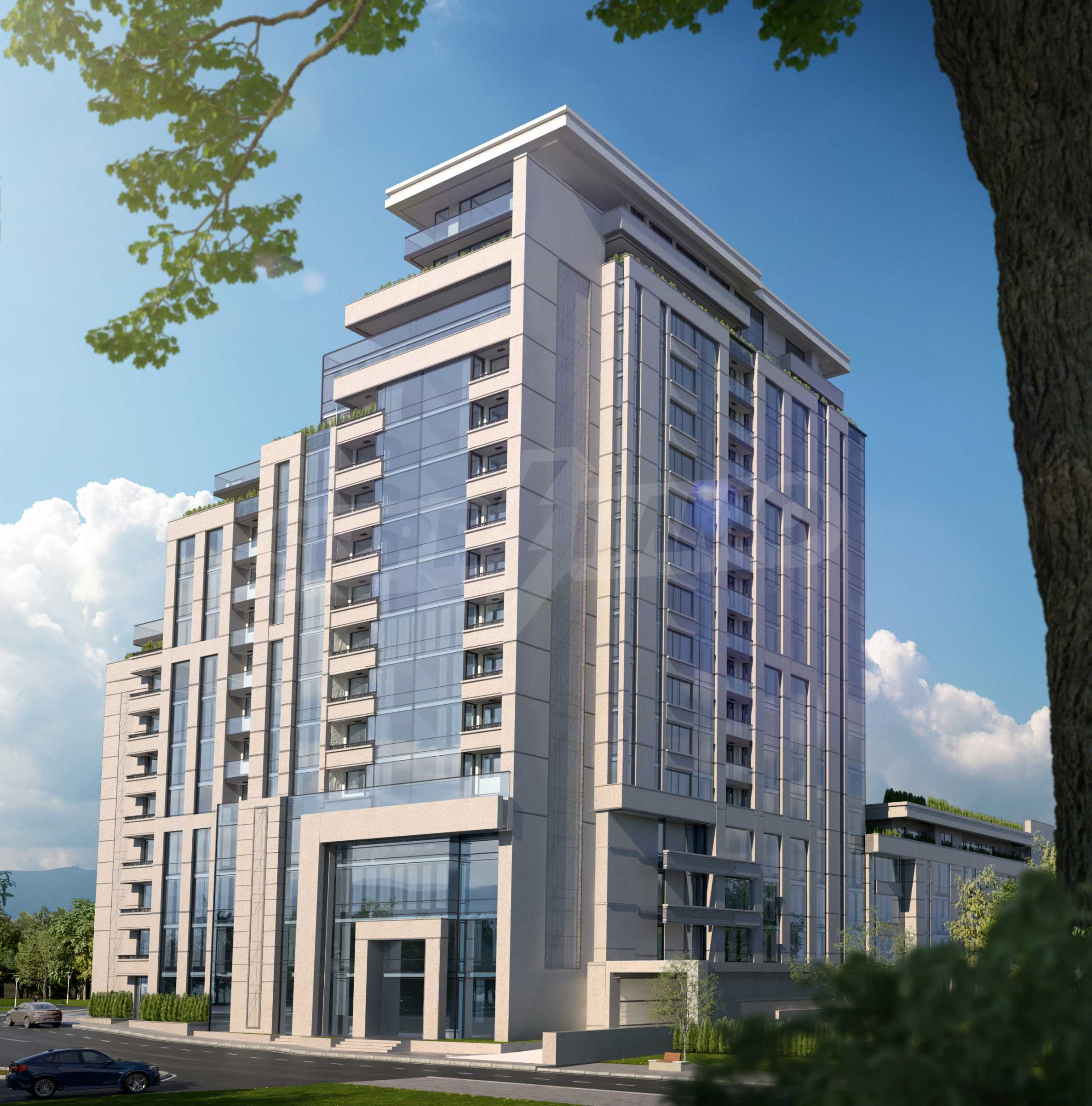 Distinctive project on Tintyava Street next to Joliot Curie metro station. Promo prices! 4