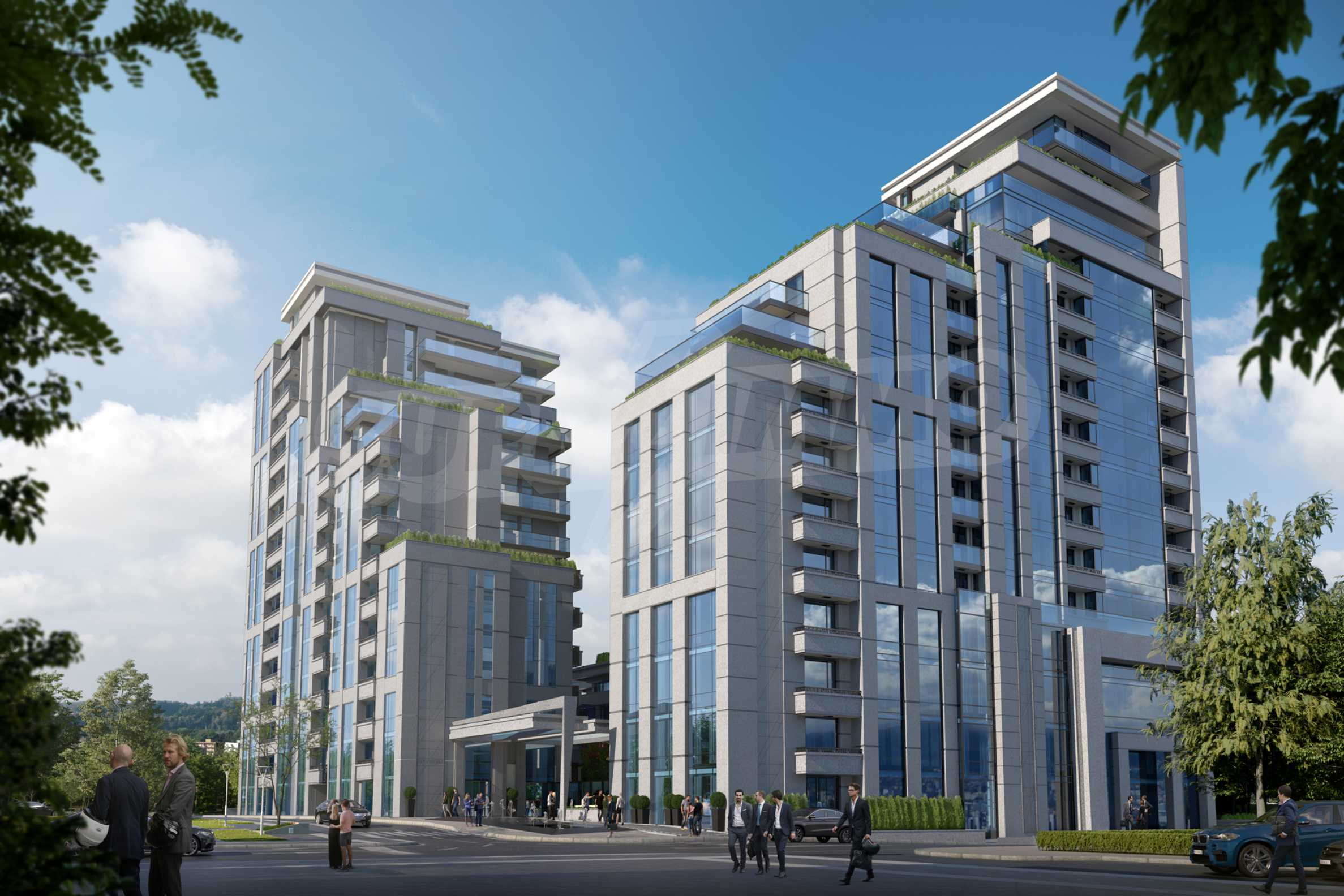 Distinctive project on Tintyava Street next to Joliot Curie metro station. Promo prices! 5