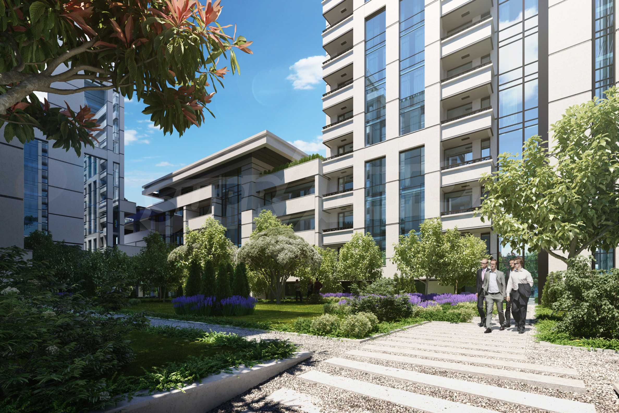 Distinctive project on Tintyava Street next to Joliot Curie metro station. Promo prices! 6