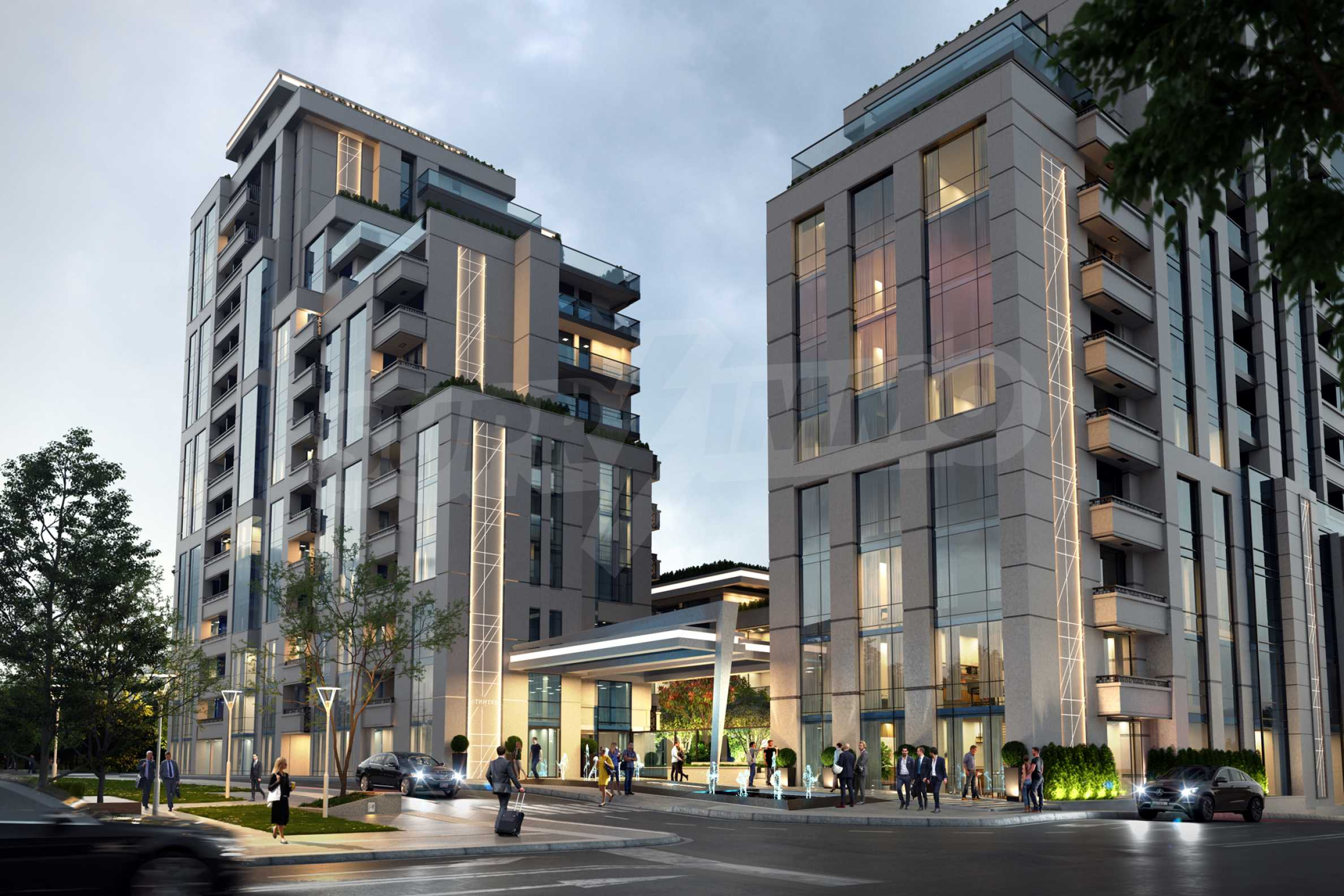 Distinctive project on Tintyava Street next to Joliot Curie metro station. Promo prices! 8