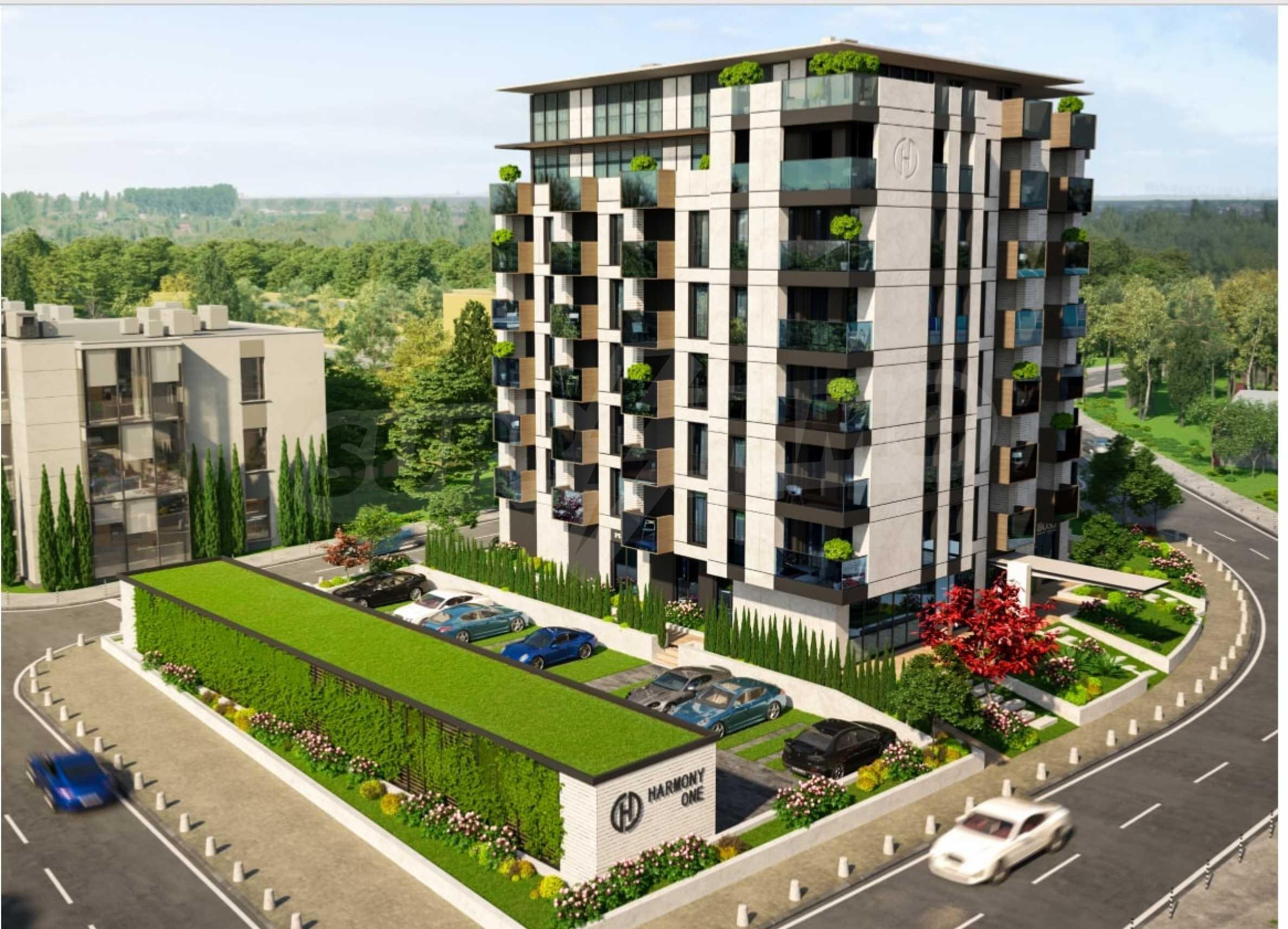 Апартамент с две спални за продажба в нова жилищна сграда в квартал Изгрев 7