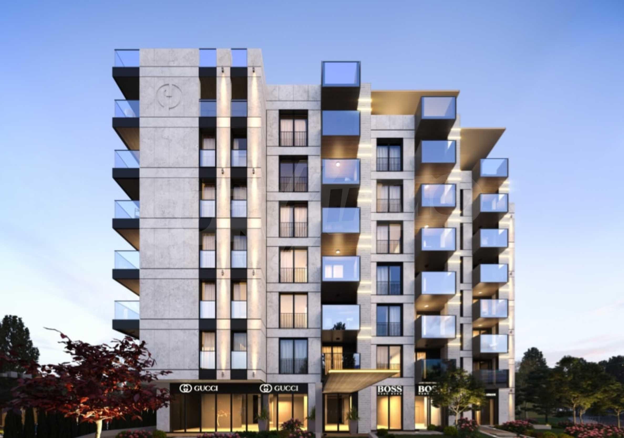 Апартамент с две спални за продажба в нова жилищна сграда в квартал Изгрев