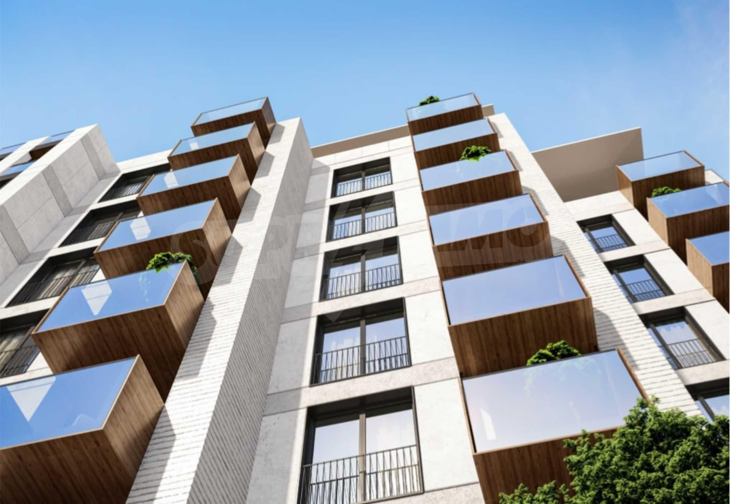 Апартамент с две спални за продажба в нова жилищна сграда в квартал Изгрев 1