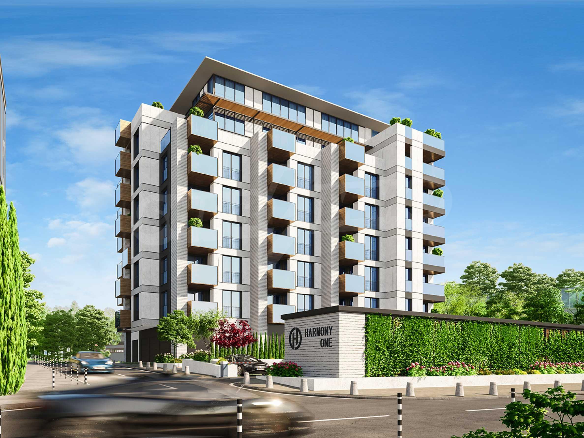 Апартамент с две спални за продажба в нова жилищна сграда в квартал Изгрев 2