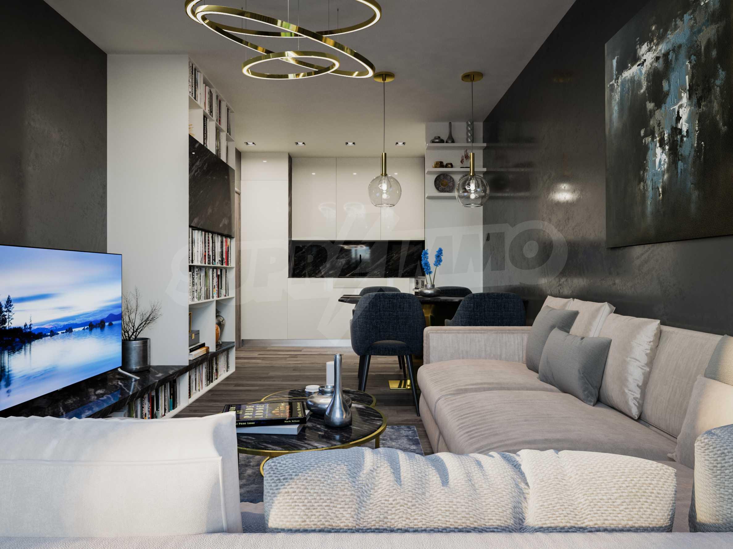 Апартамент с две спални за продажба в нова жилищна сграда в квартал Изгрев 3