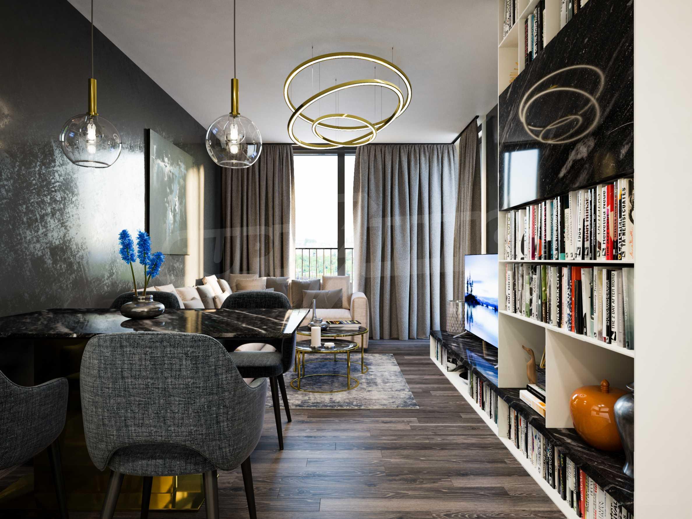 Апартамент с две спални за продажба в нова жилищна сграда в квартал Изгрев 4