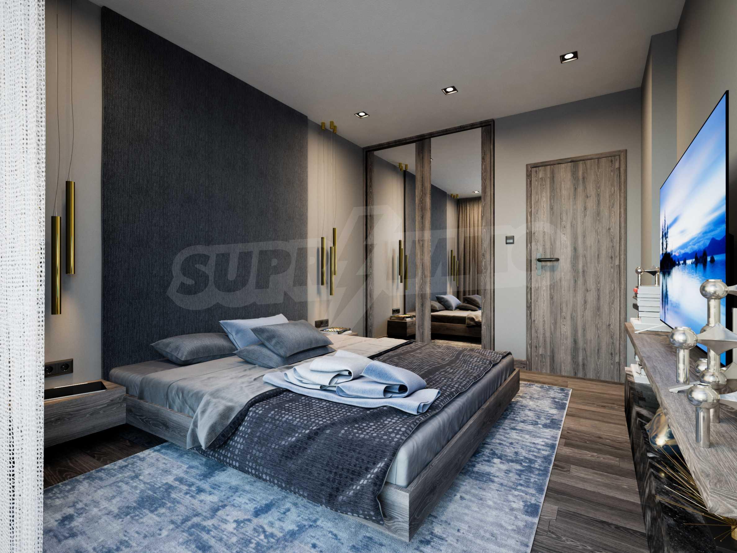 Апартамент с две спални за продажба в нова жилищна сграда в квартал Изгрев 5