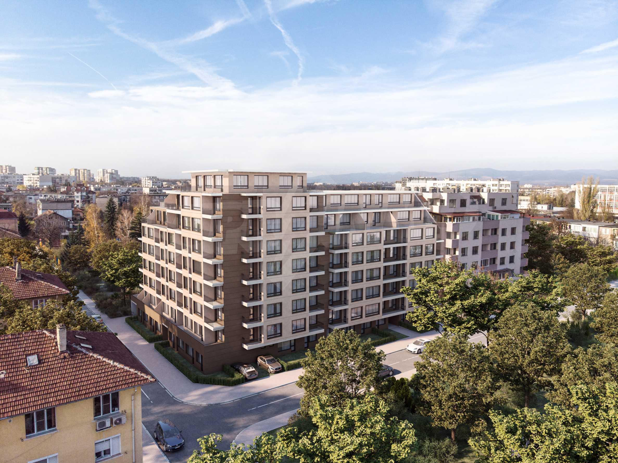 Двустаен апартамент в представителна сграда 1