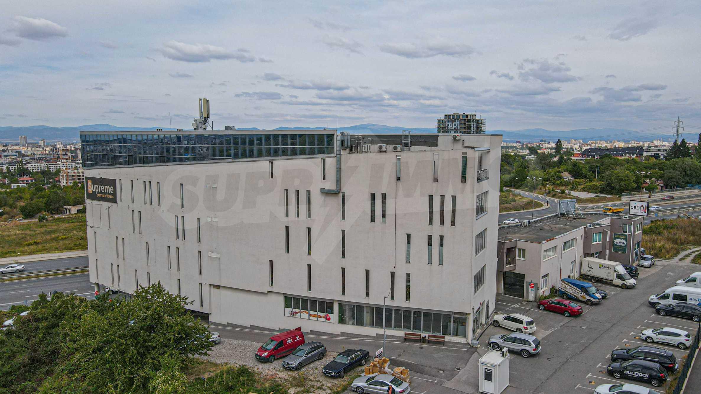 Панорамный офис в здании класса А на МКАД 1