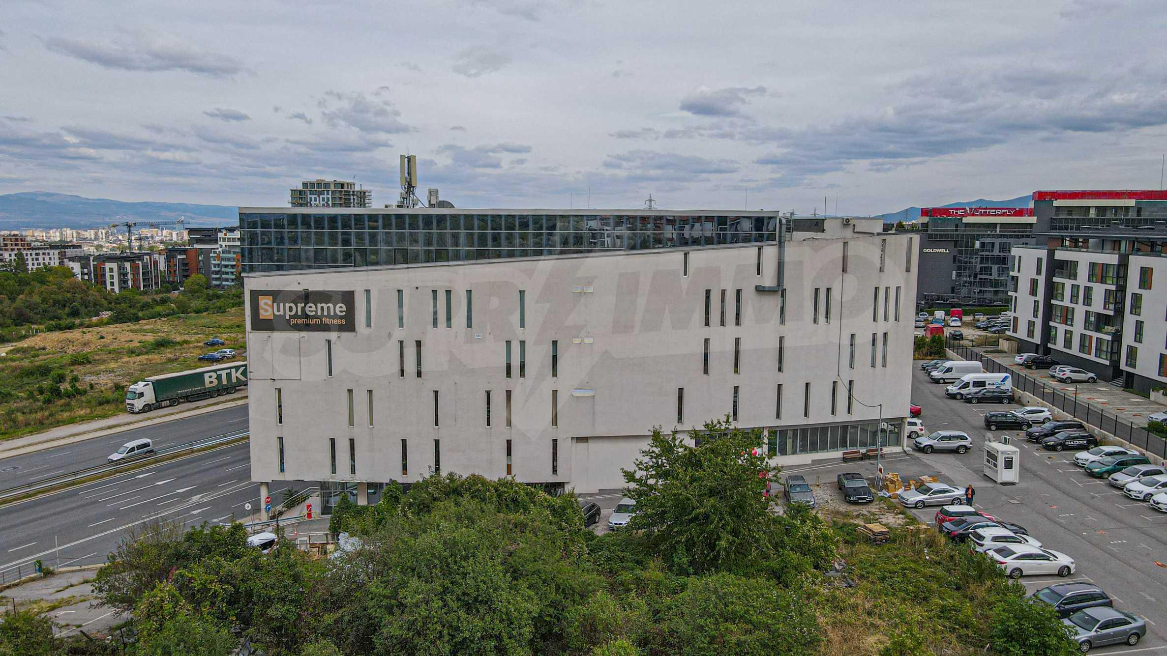 Панорамный офис в здании класса А на МКАД 2
