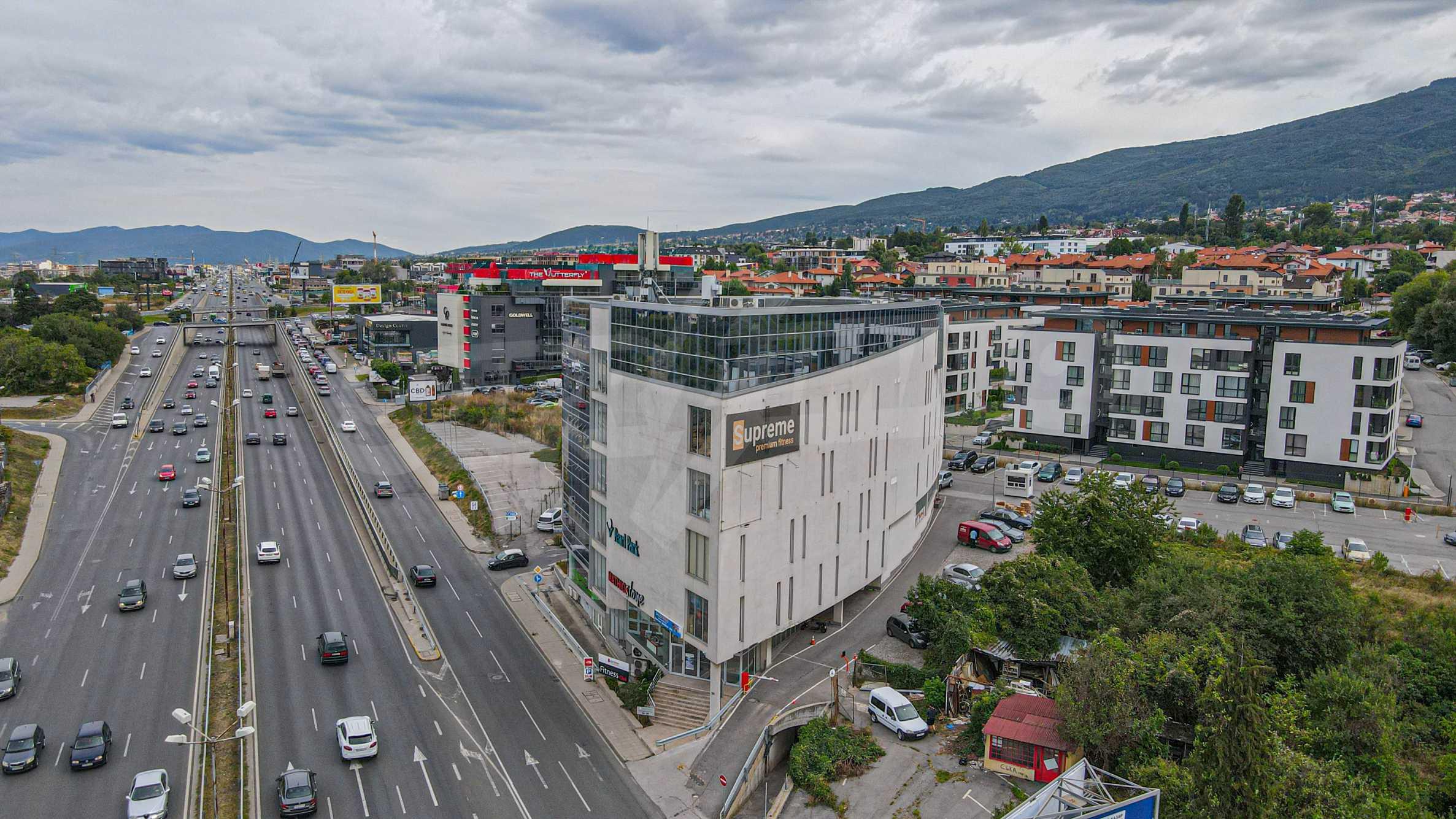 Панорамный офис в здании класса А на МКАД 3