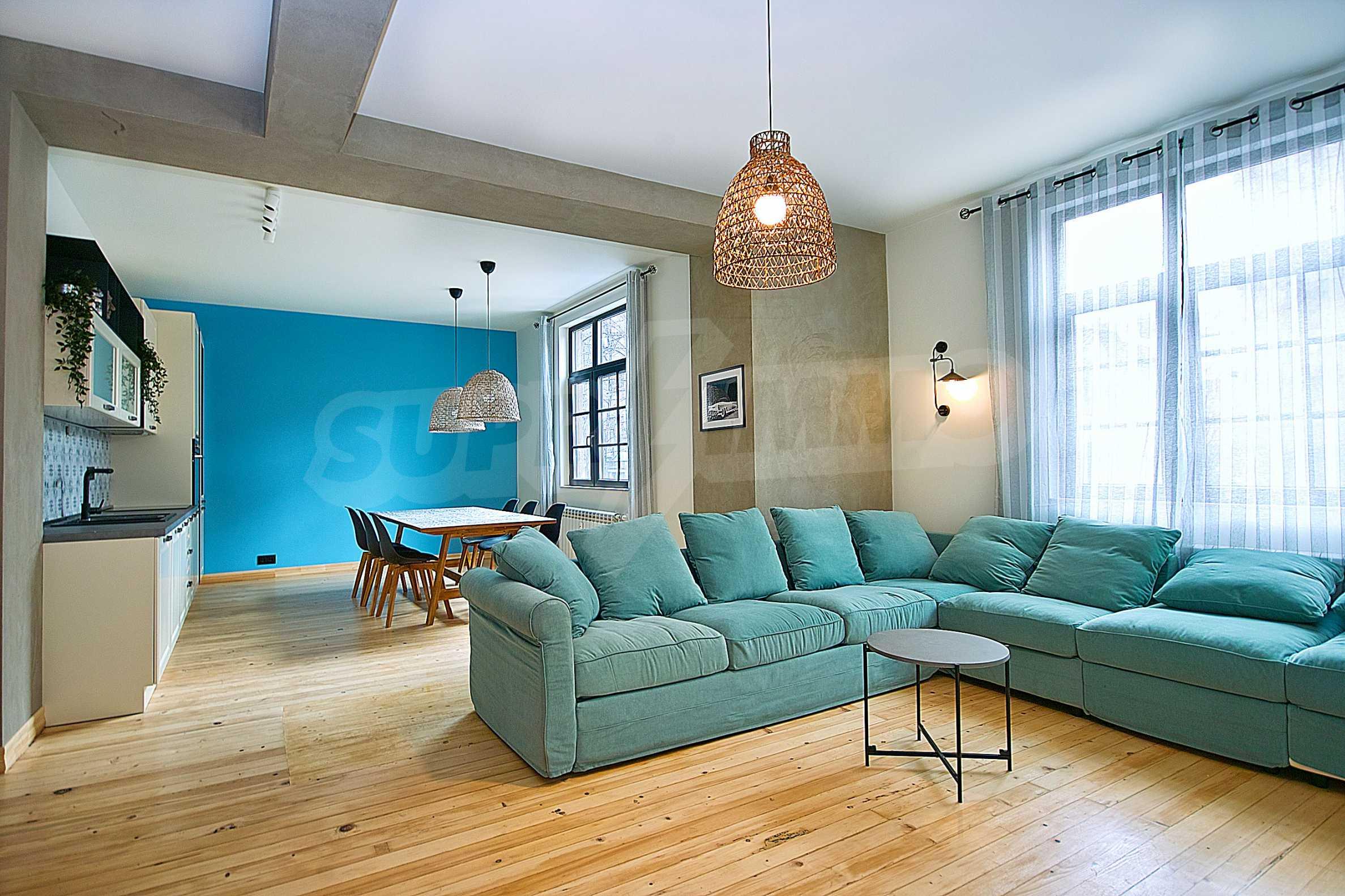 Möblierte Wohnung mit zwei Schlafzimmern in der Mitte 3