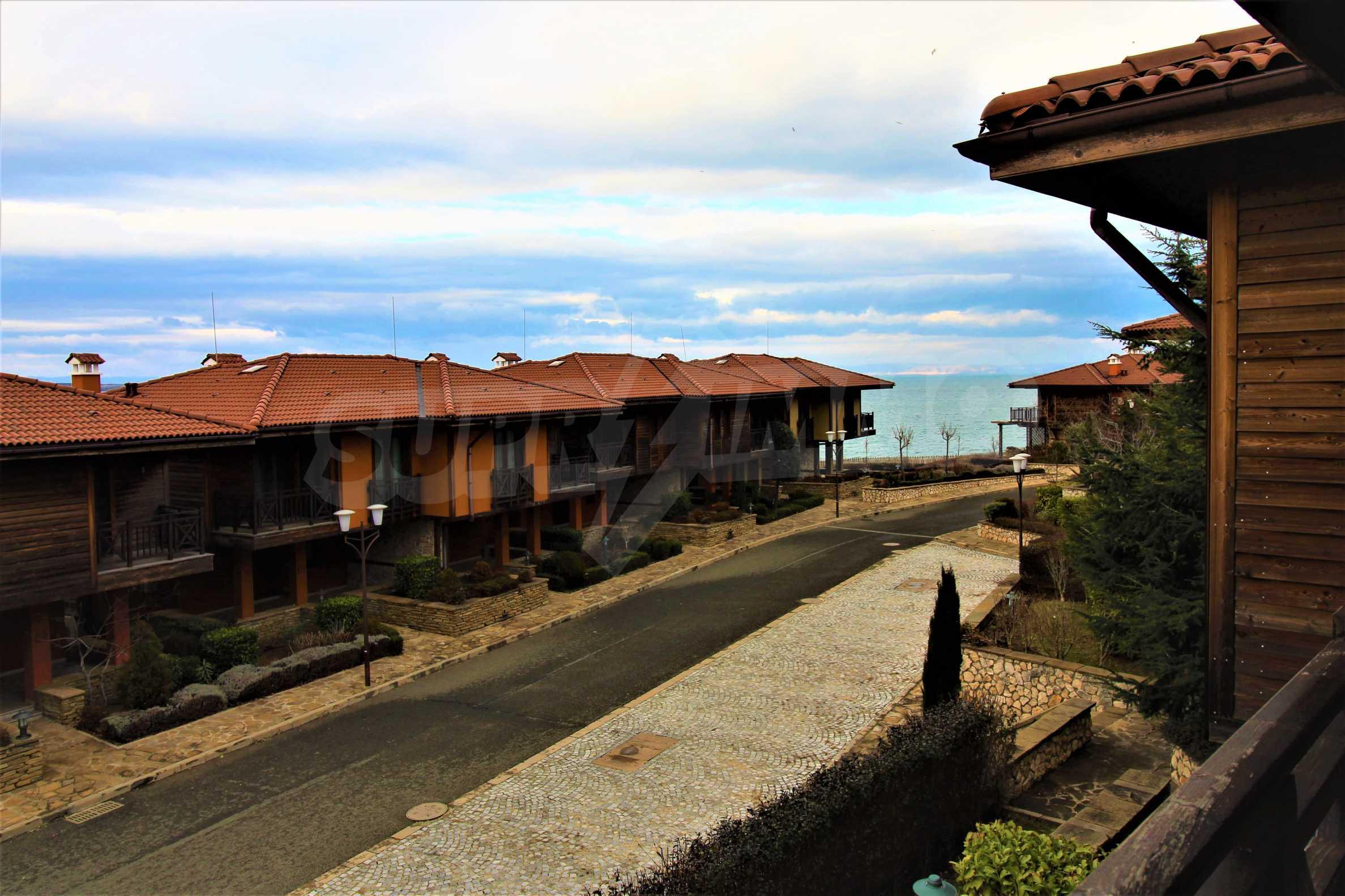 Sea view twin house in unique complex SOZOPOLIS (56A) 23