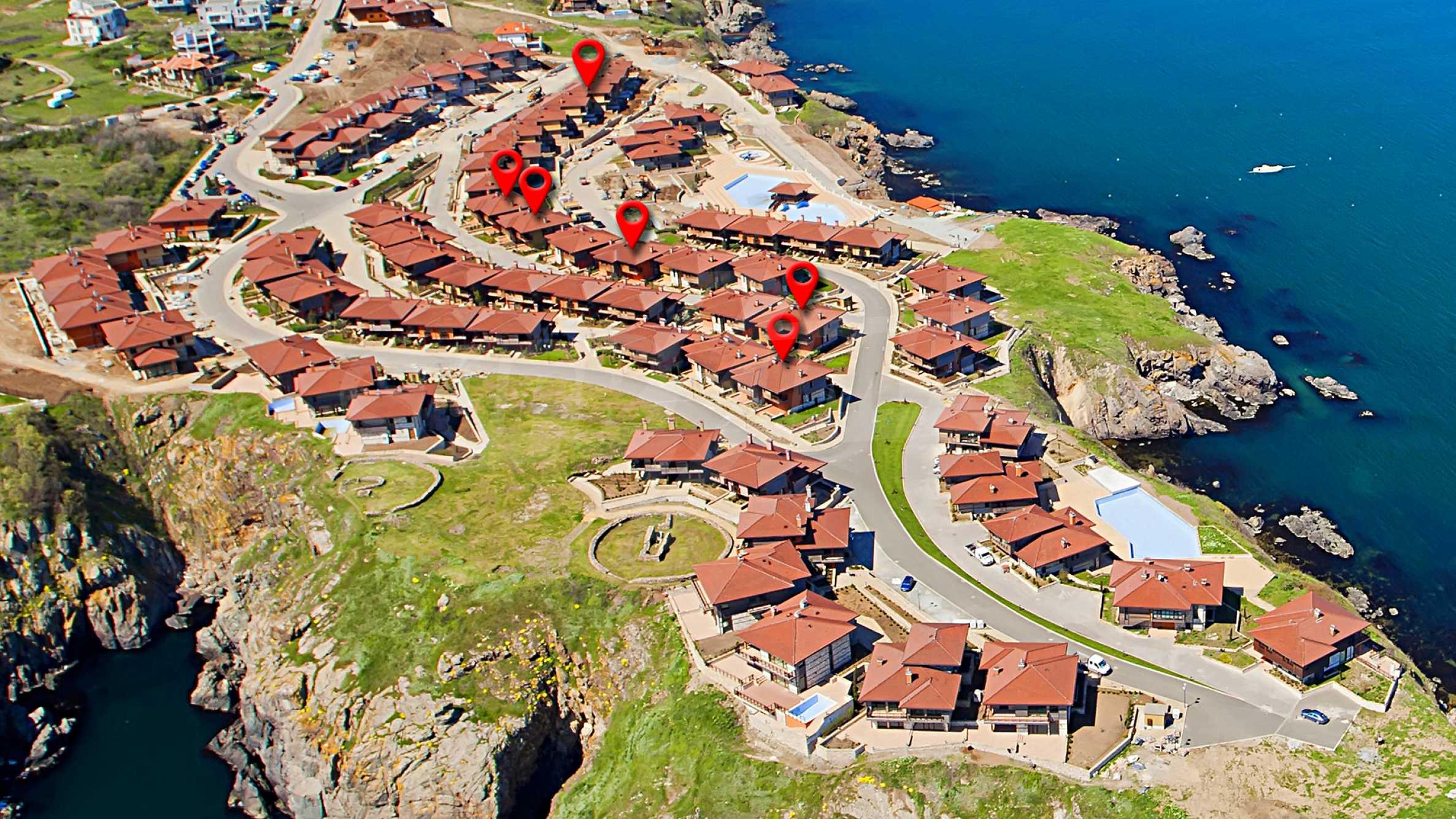 Sea view twin house in unique complex SOZOPOLIS (56A) 36