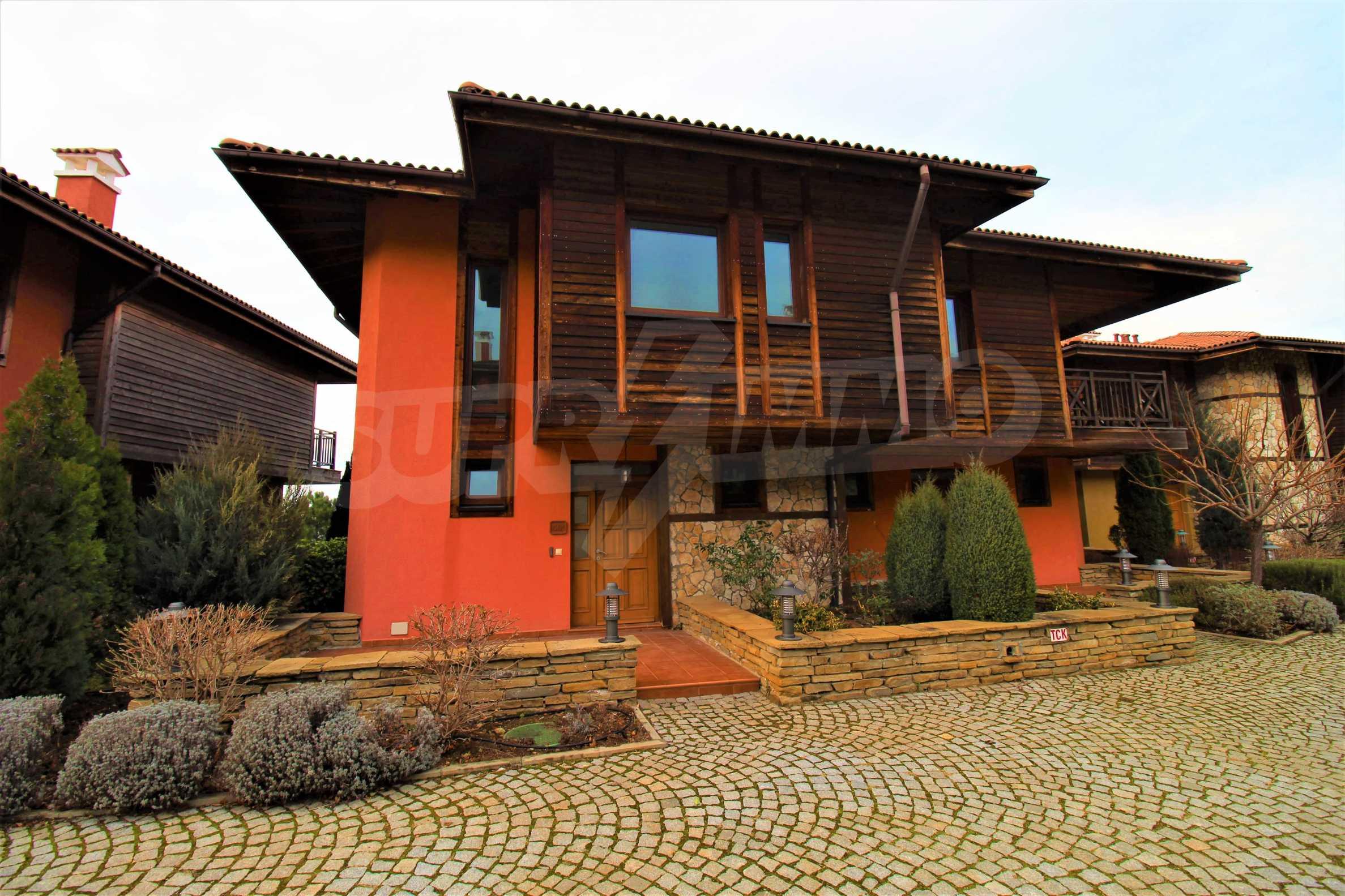 Sea view twin house in unique complex SOZOPOLIS (56A) 6