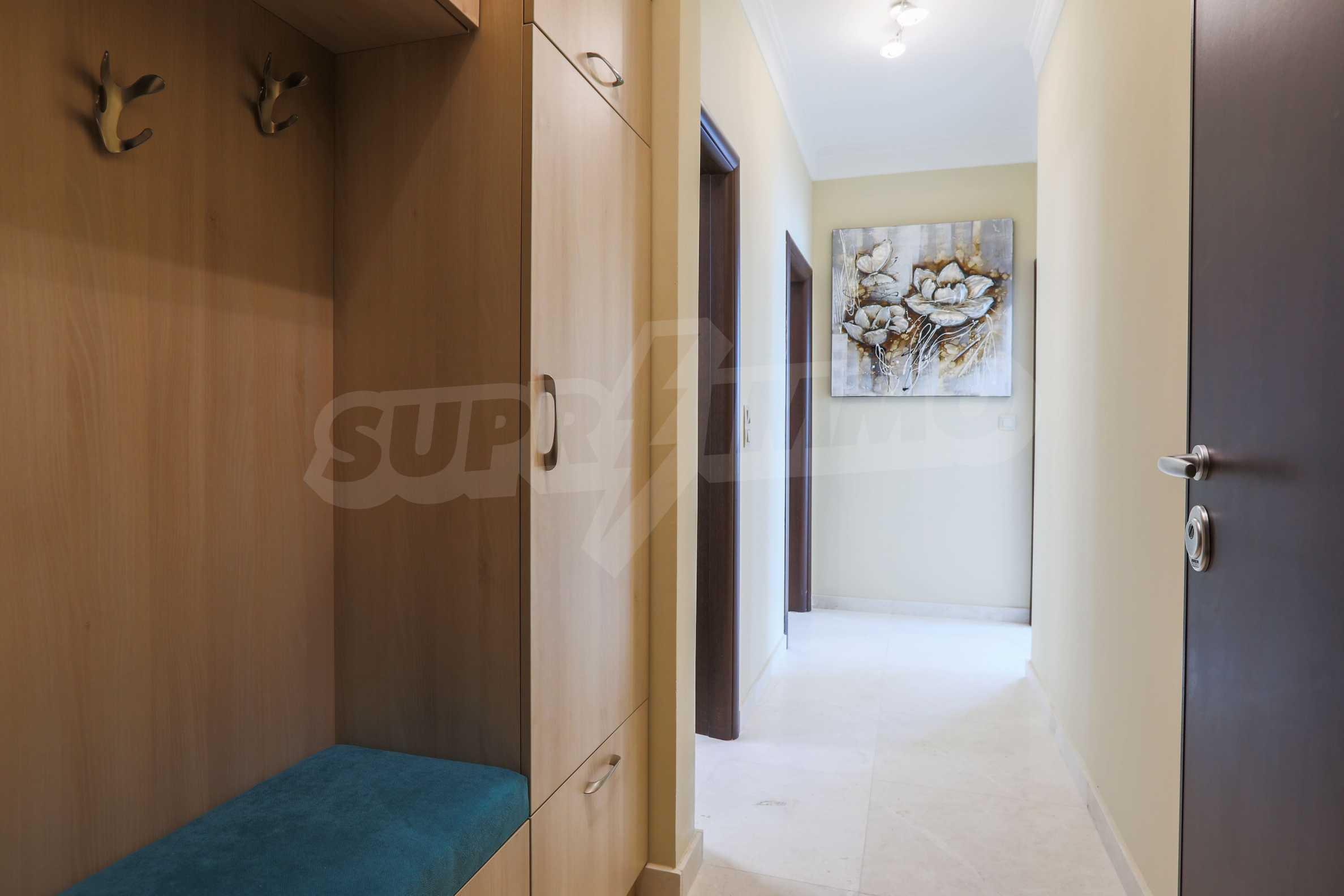 Комфортен двустаен апартамент под наем в Belle Époque Beach Residence, курорт Лозенец 10