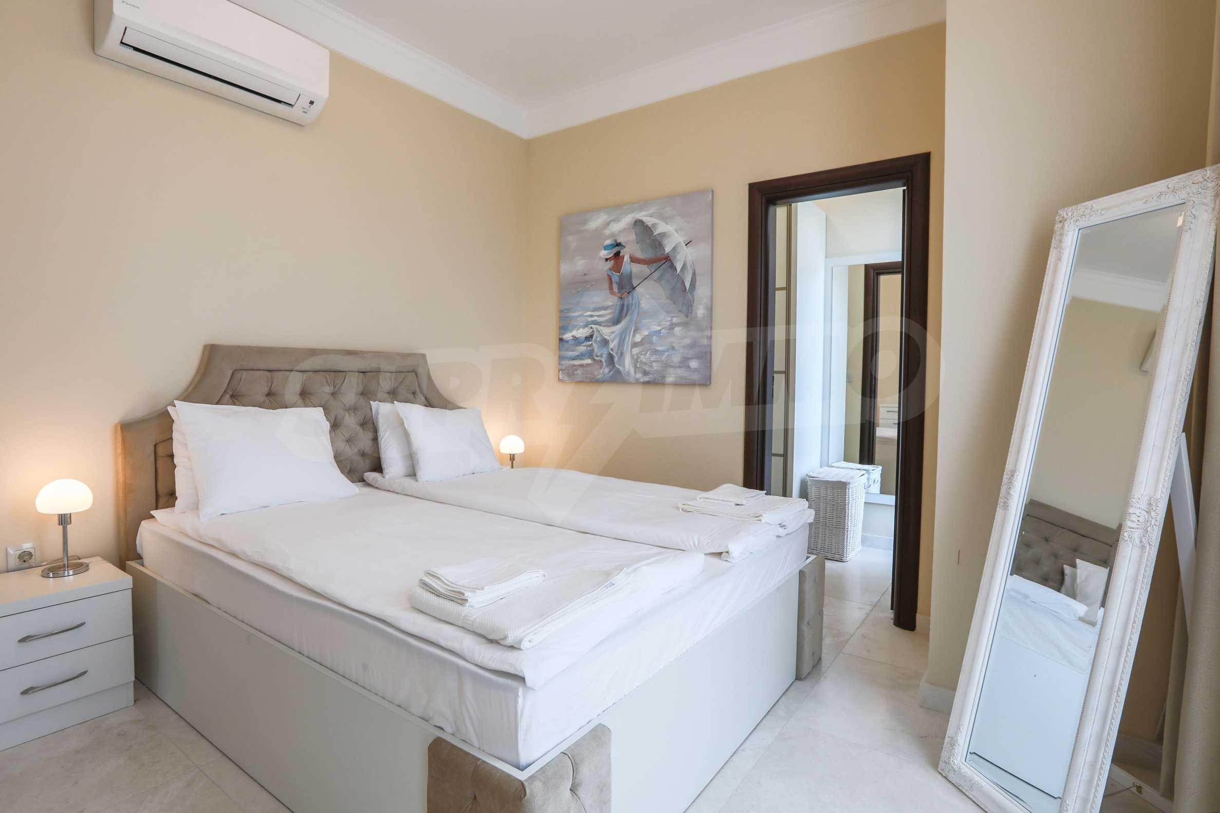 Комфортен двустаен апартамент под наем в Belle Époque Beach Residence, курорт Лозенец 11