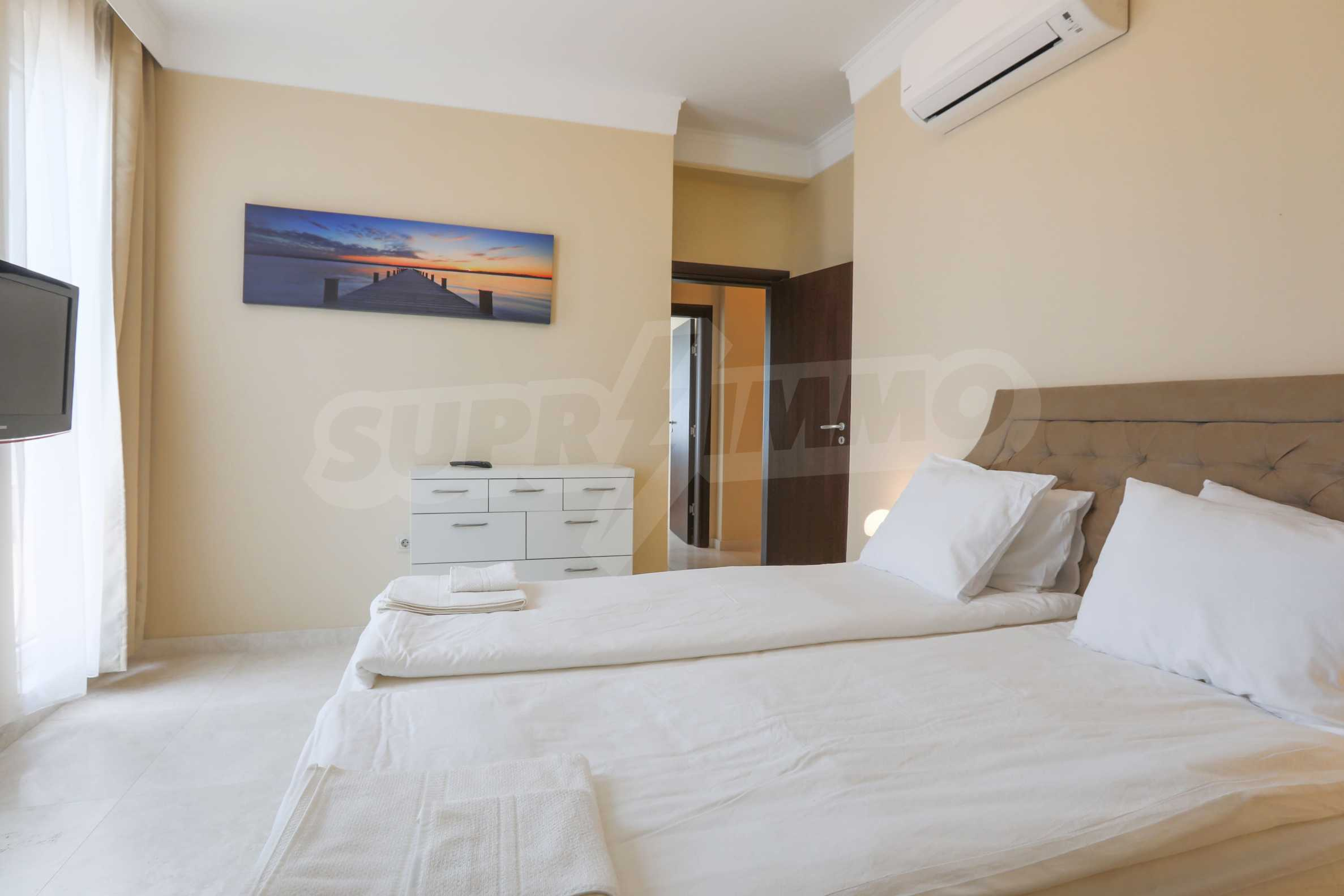 Комфортен двустаен апартамент под наем в Belle Époque Beach Residence, курорт Лозенец 13