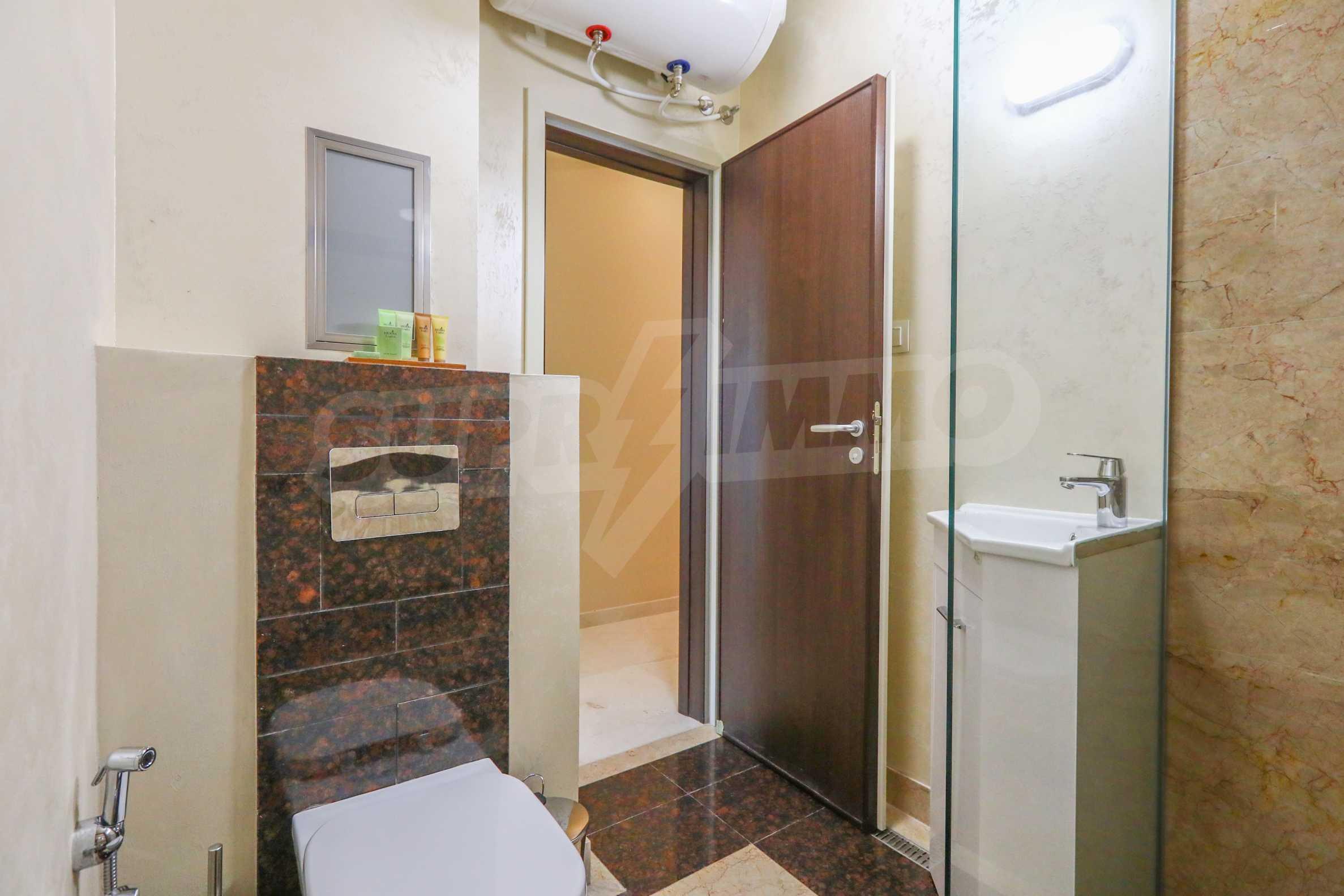 Комфортен двустаен апартамент под наем в Belle Époque Beach Residence, курорт Лозенец 18