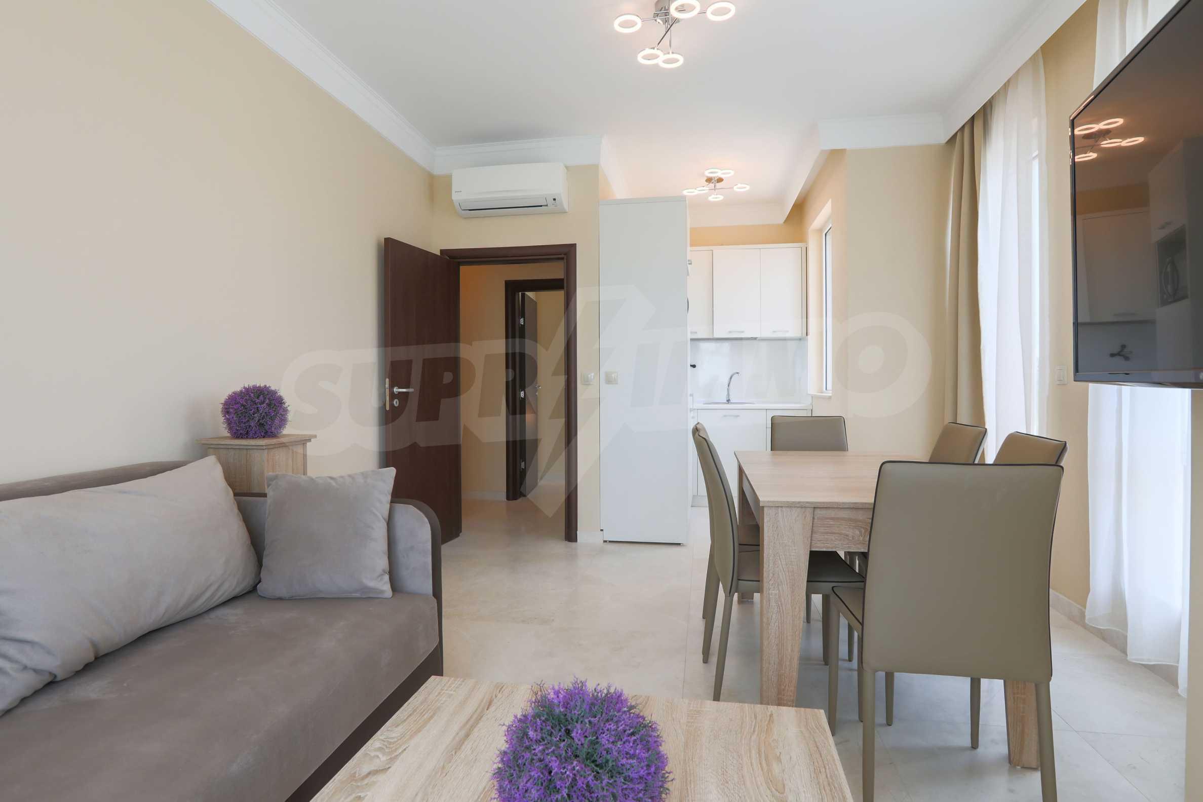 Комфортен двустаен апартамент под наем в Belle Époque Beach Residence, курорт Лозенец 2