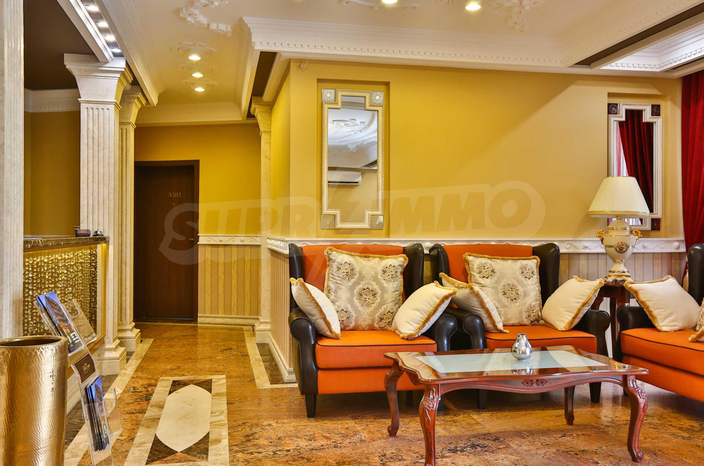 Комфортен двустаен апартамент под наем в Belle Époque Beach Residence, курорт Лозенец 28