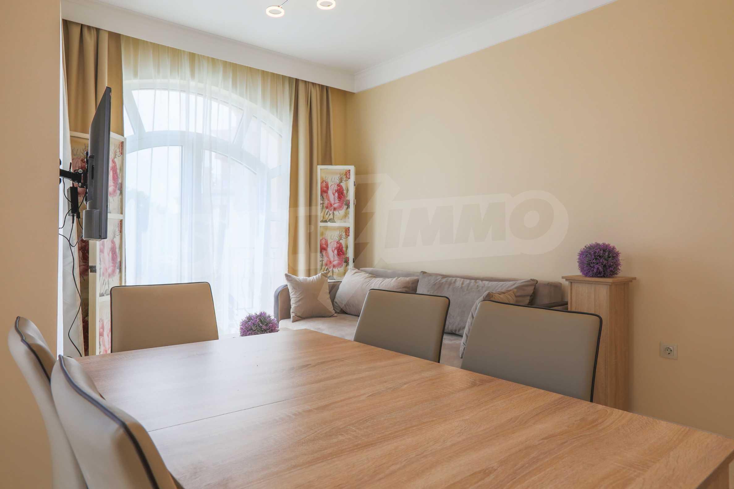 Комфортен двустаен апартамент под наем в Belle Époque Beach Residence, курорт Лозенец 5