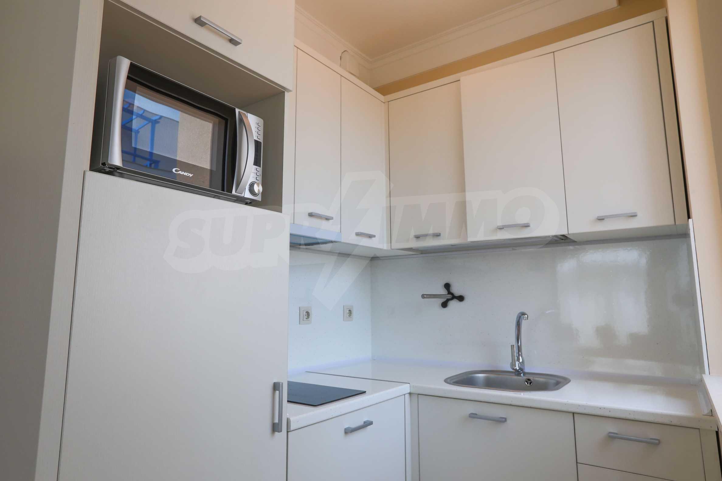 Комфортен двустаен апартамент под наем в Belle Époque Beach Residence, курорт Лозенец 7