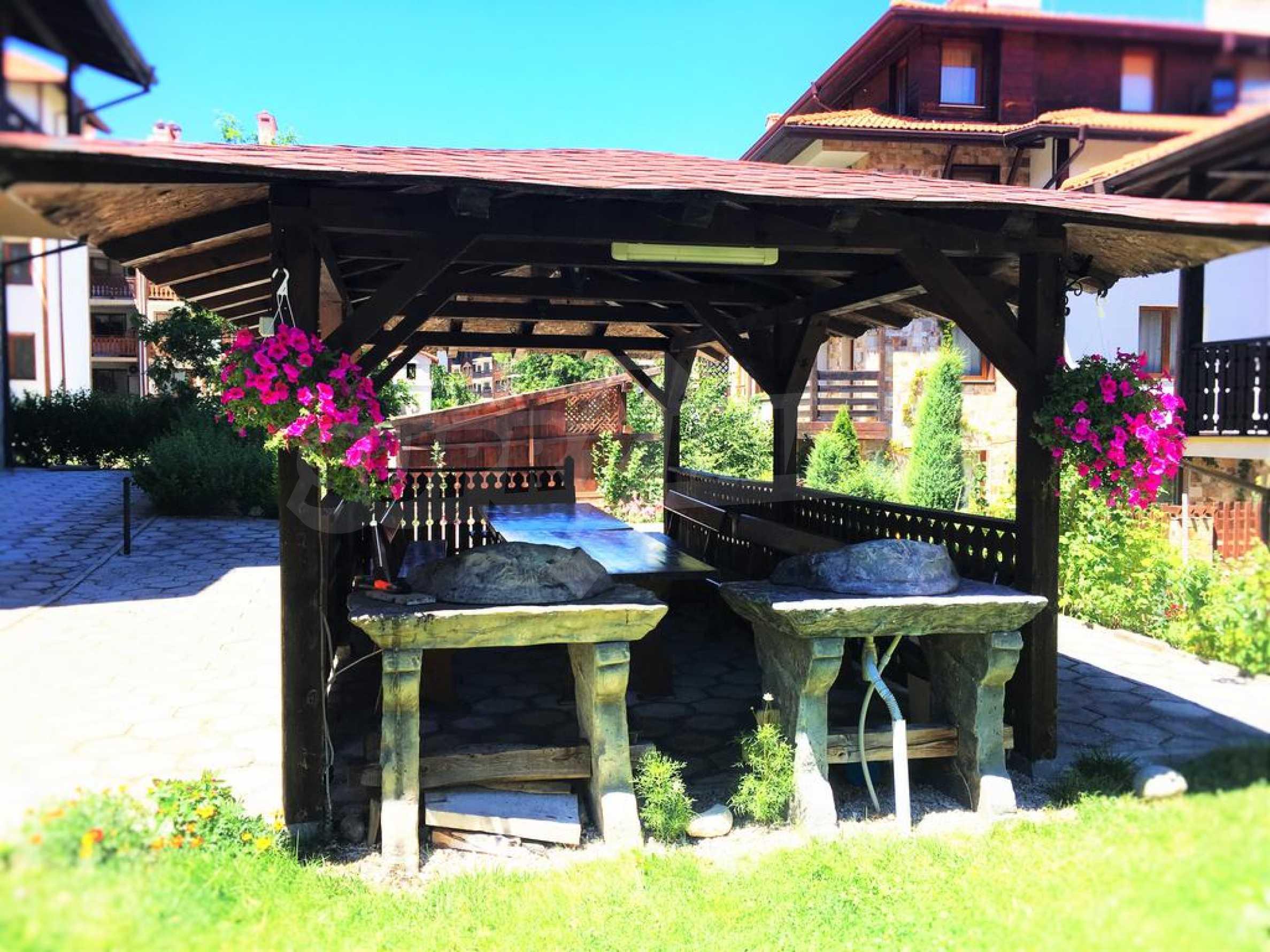 Möbliertes Apartment mit zwei Schlafzimmern im Top Lodge-Komplex, nur wenige Meter vom Skilift in Bansko entfernt 16