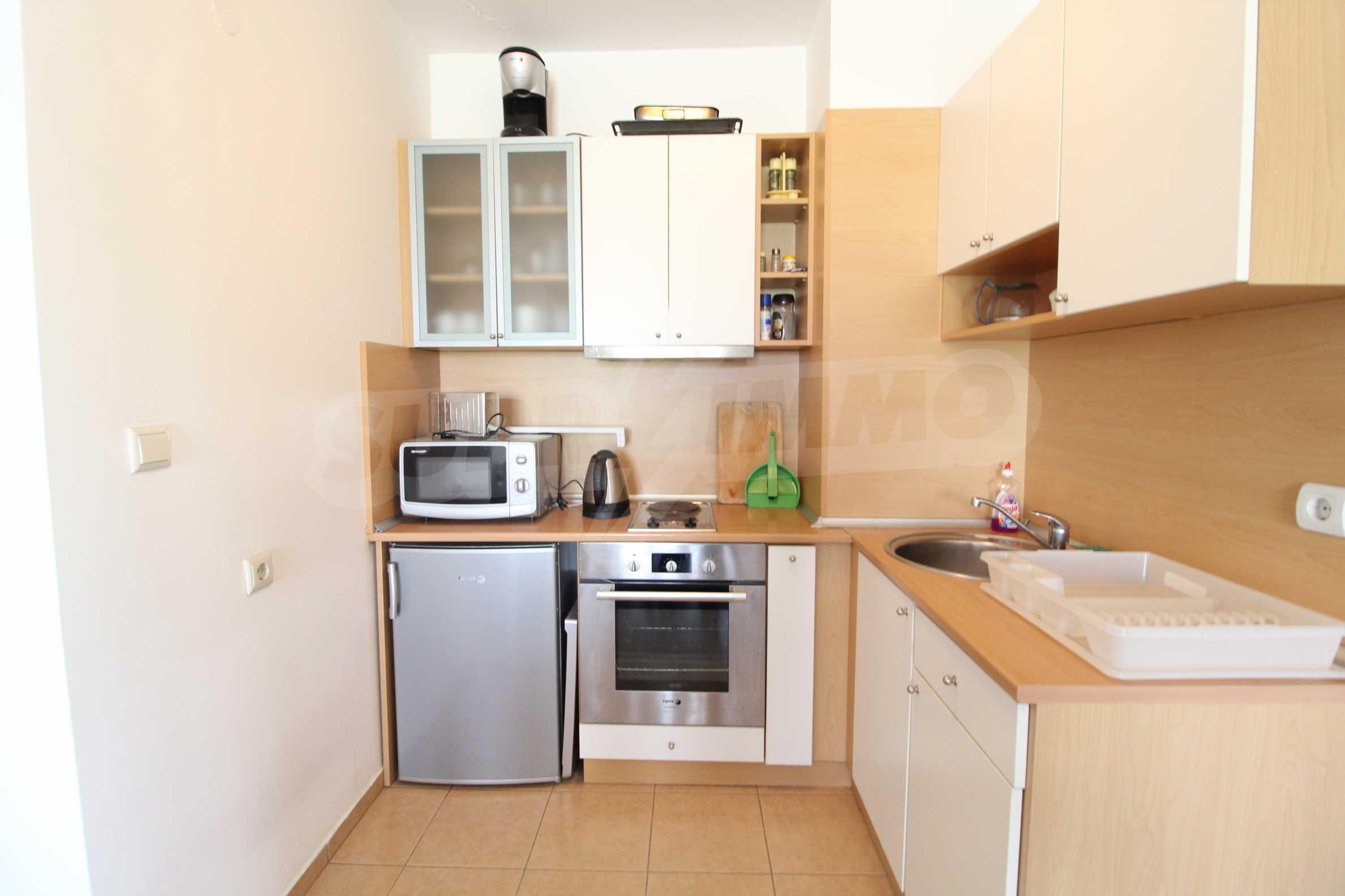 Möbliertes Apartment mit zwei Schlafzimmern im Top Lodge-Komplex, nur wenige Meter vom Skilift in Bansko entfernt 1