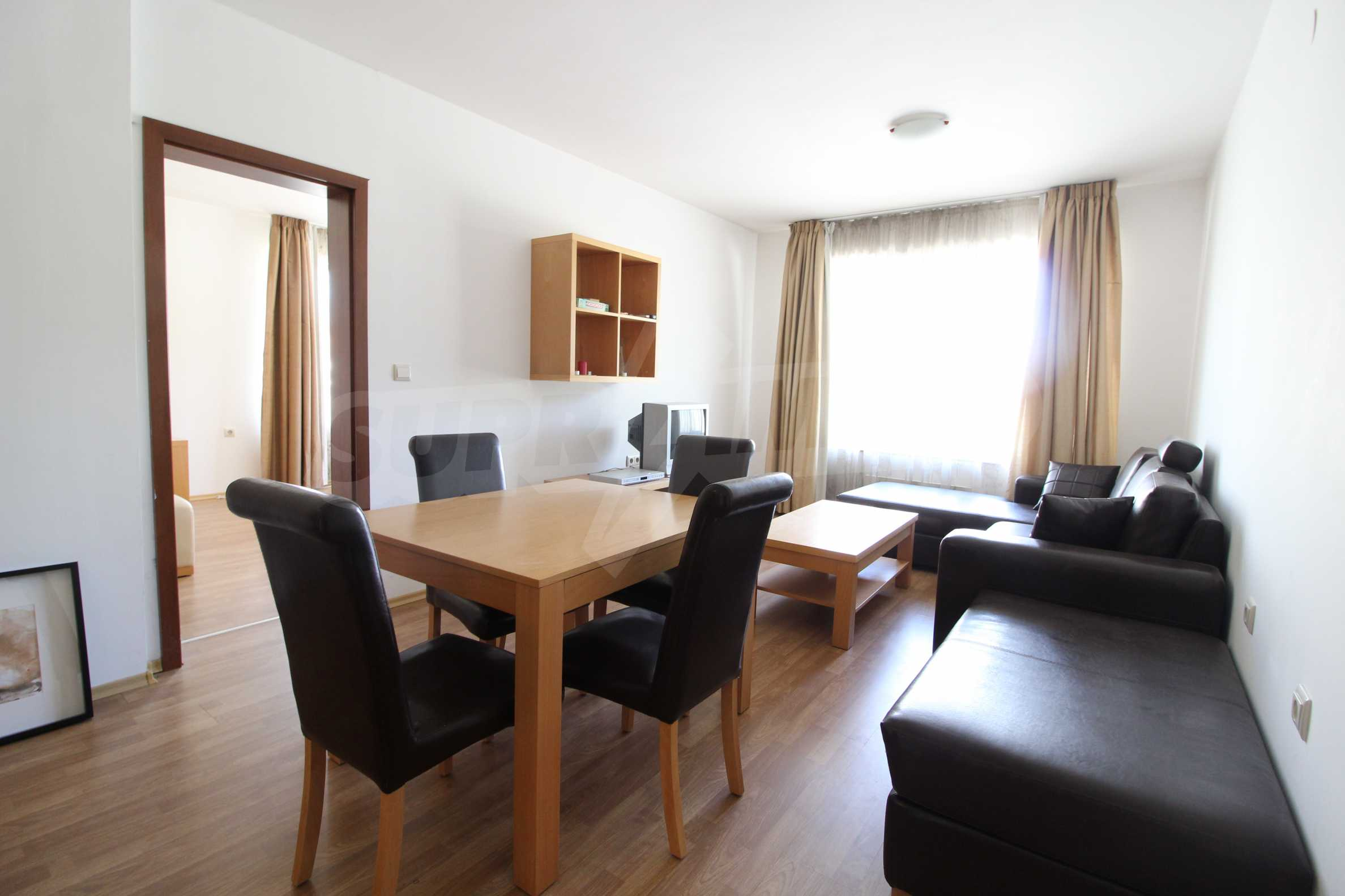 Furnished two-bedroom apartment located in Top Lodge complex, just meters from the ski lift in Bansko 2