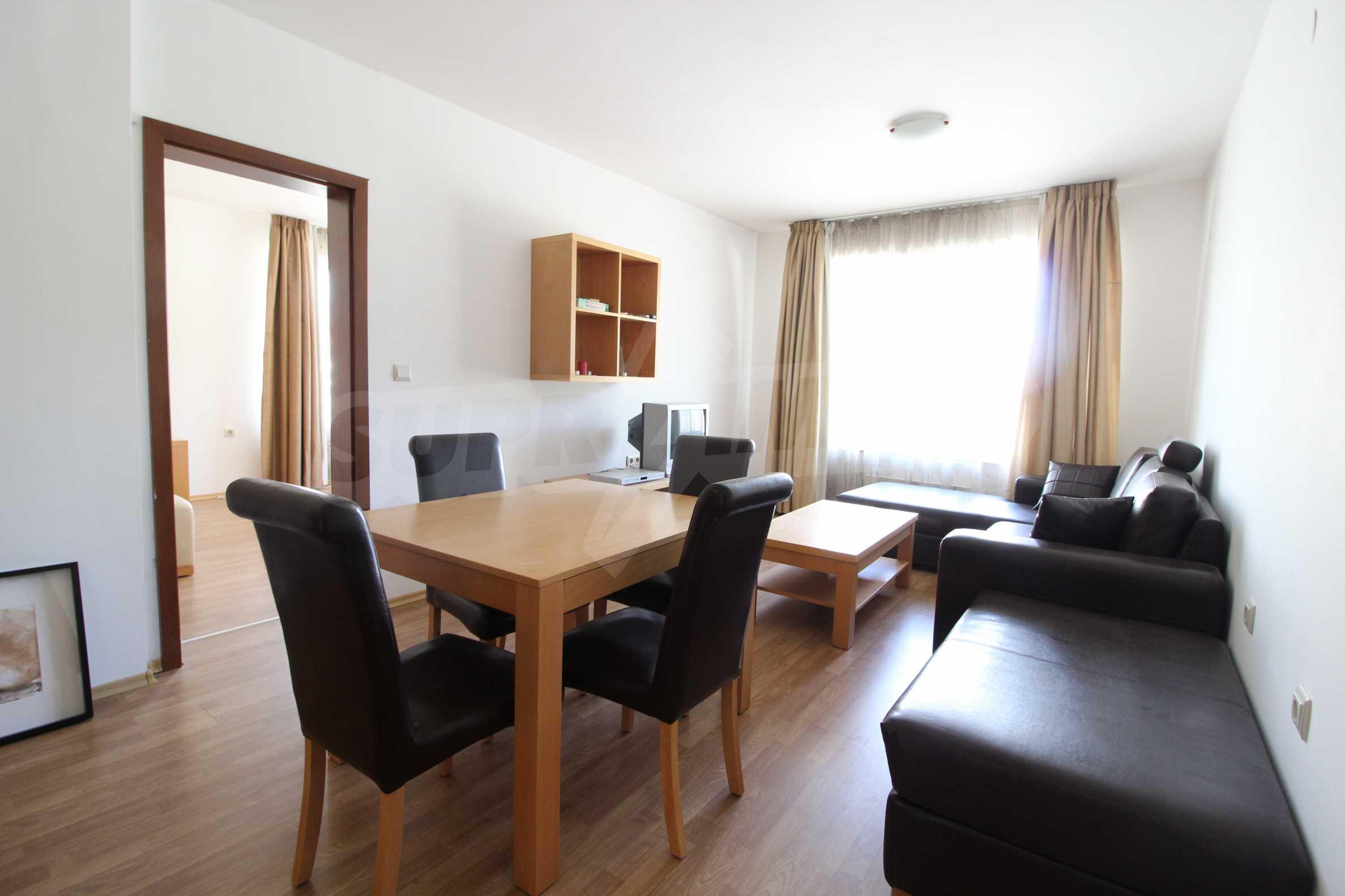 Möbliertes Apartment mit zwei Schlafzimmern im Top Lodge-Komplex, nur wenige Meter vom Skilift in Bansko entfernt 2