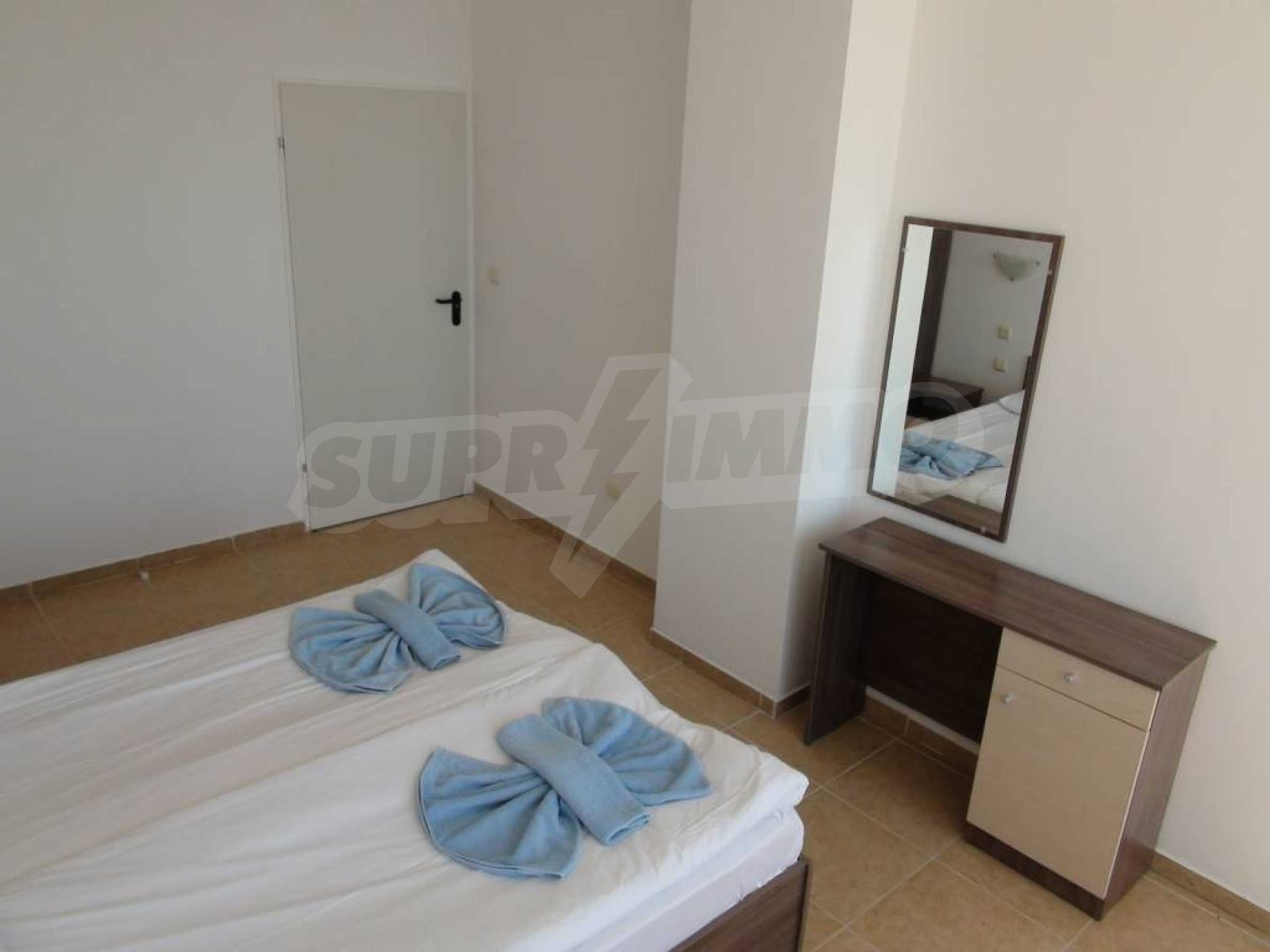 Two-bedroom apartment in a complex on the first line 25
